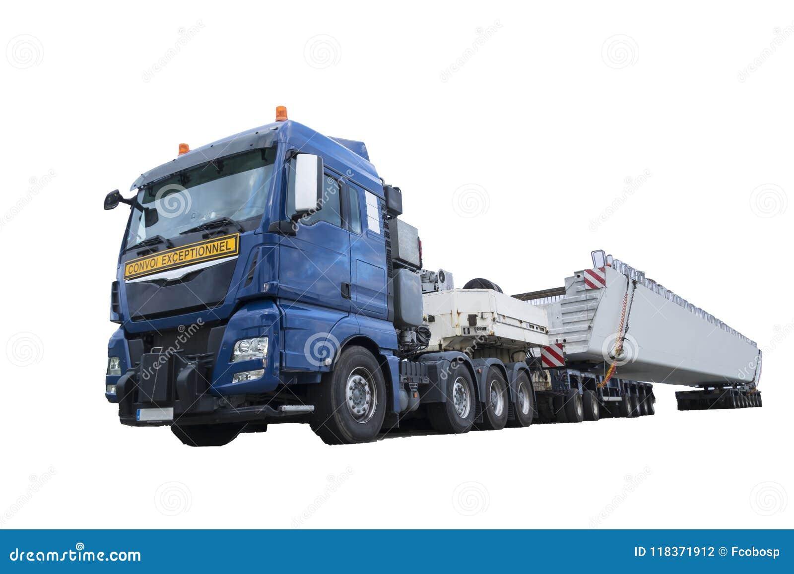 Camión pesado del transporte