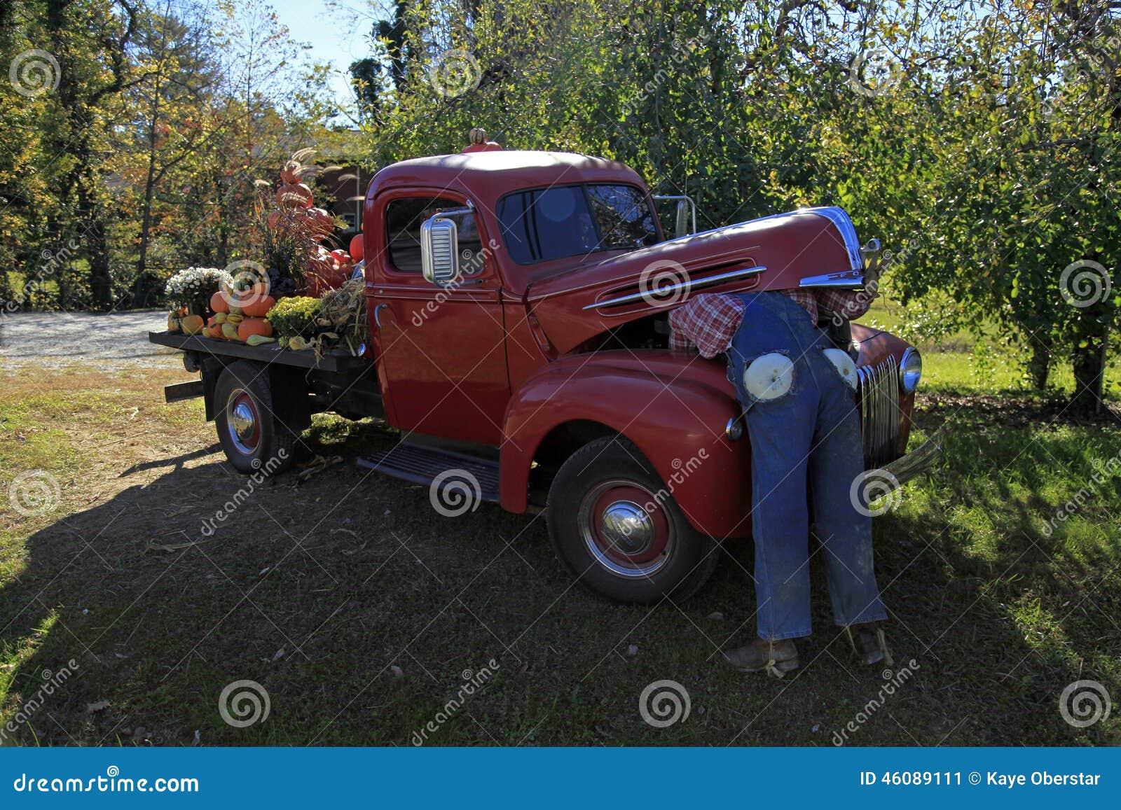 Camión viejo de Ford en Hendersonville