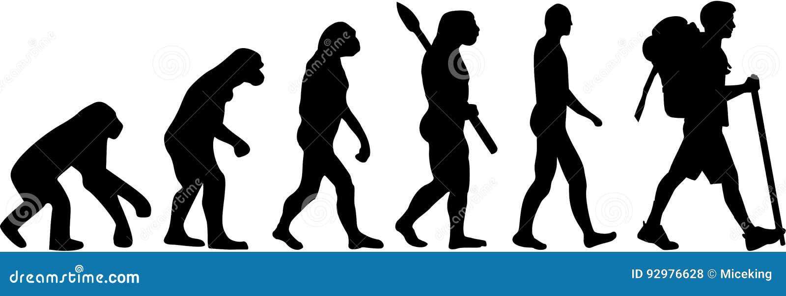 Caminante de la evolución