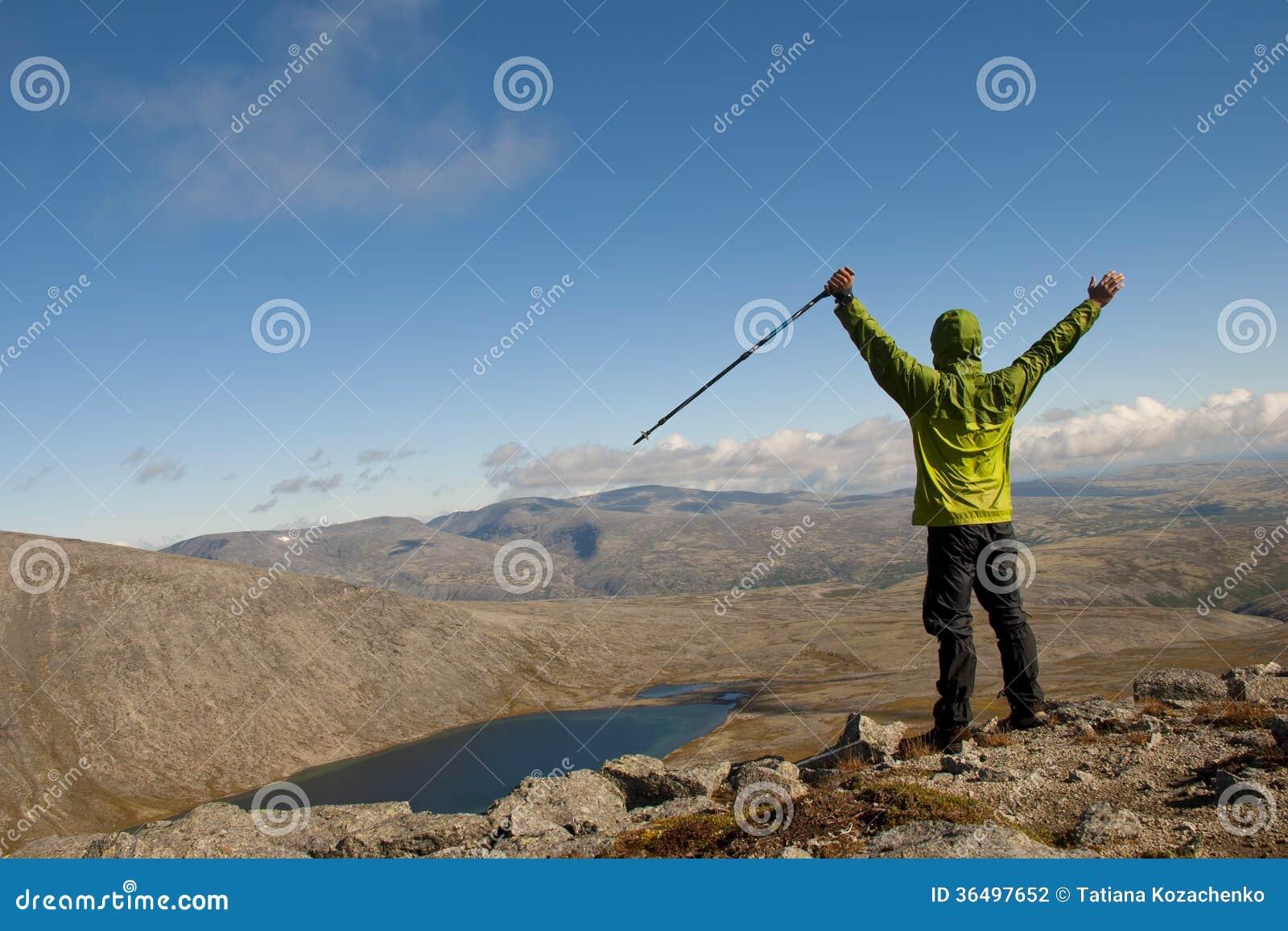 Caminante en el top