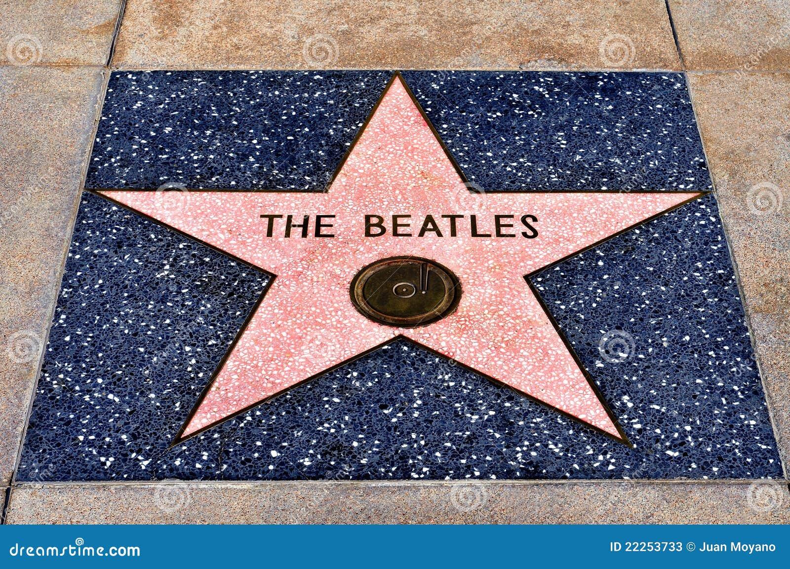 Caminata de la fama, Los Ángeles, Estados Unidos de Hollywood