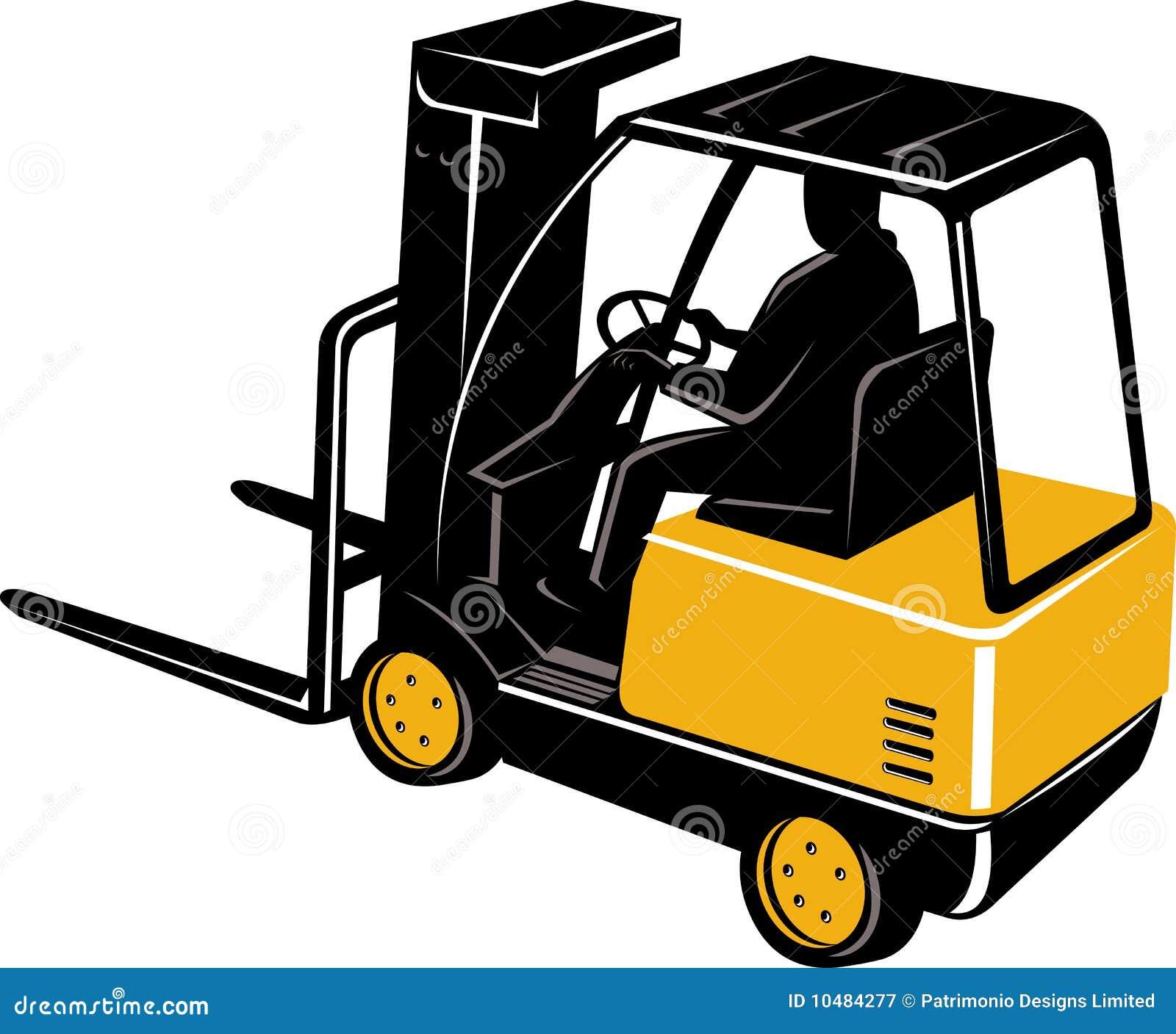 Caminhão de Forklift com excitador