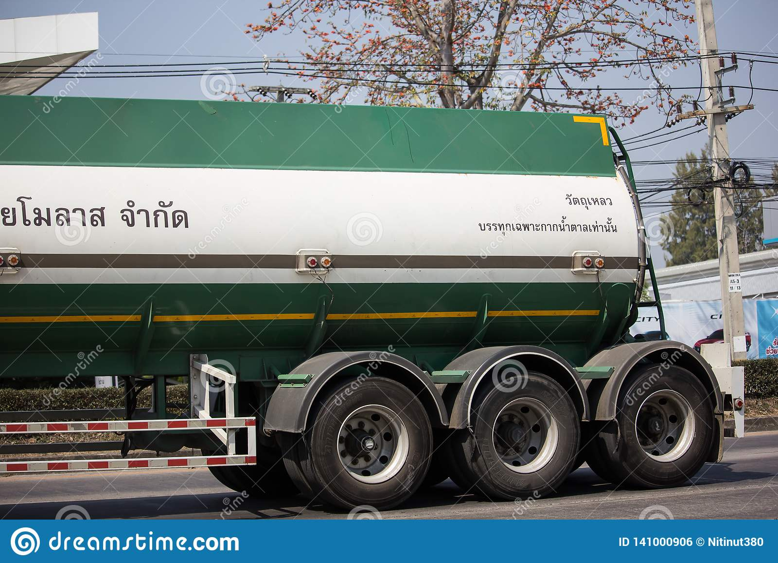 Caminhão de tanque do melaço de Tailandês Molaz Empresa