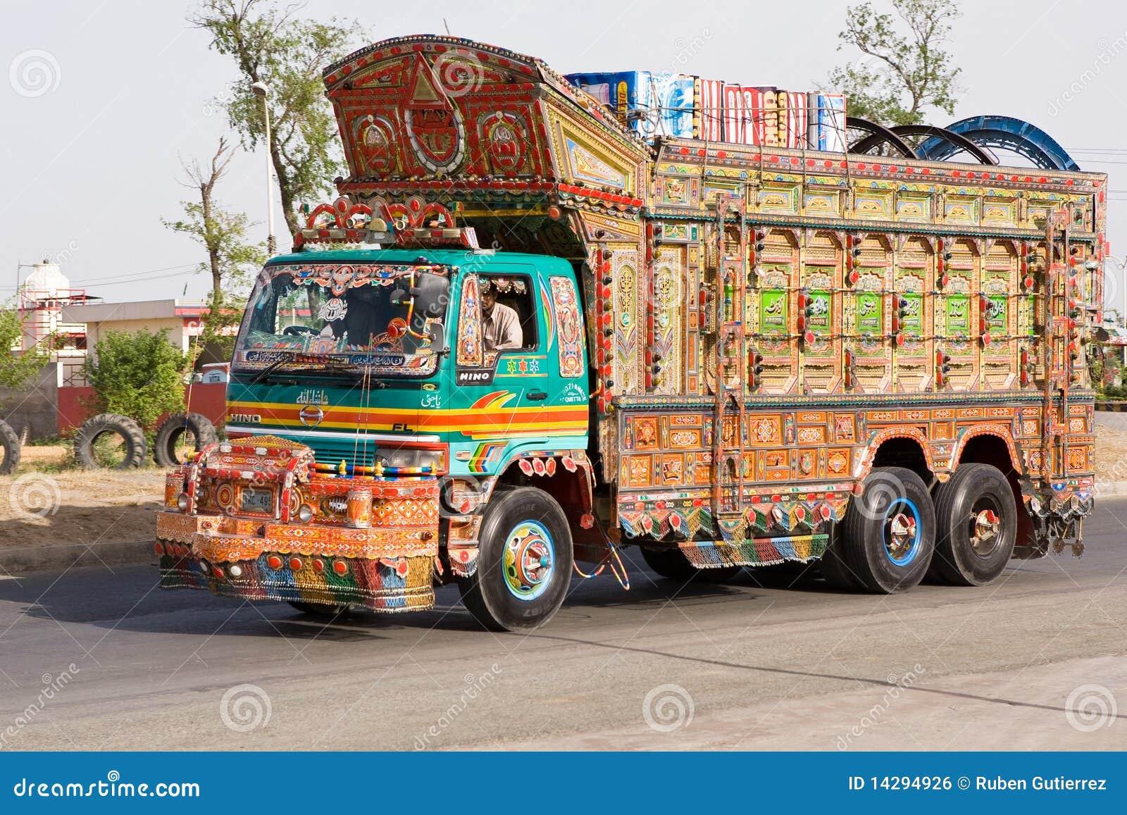Caminhão em Paquistão