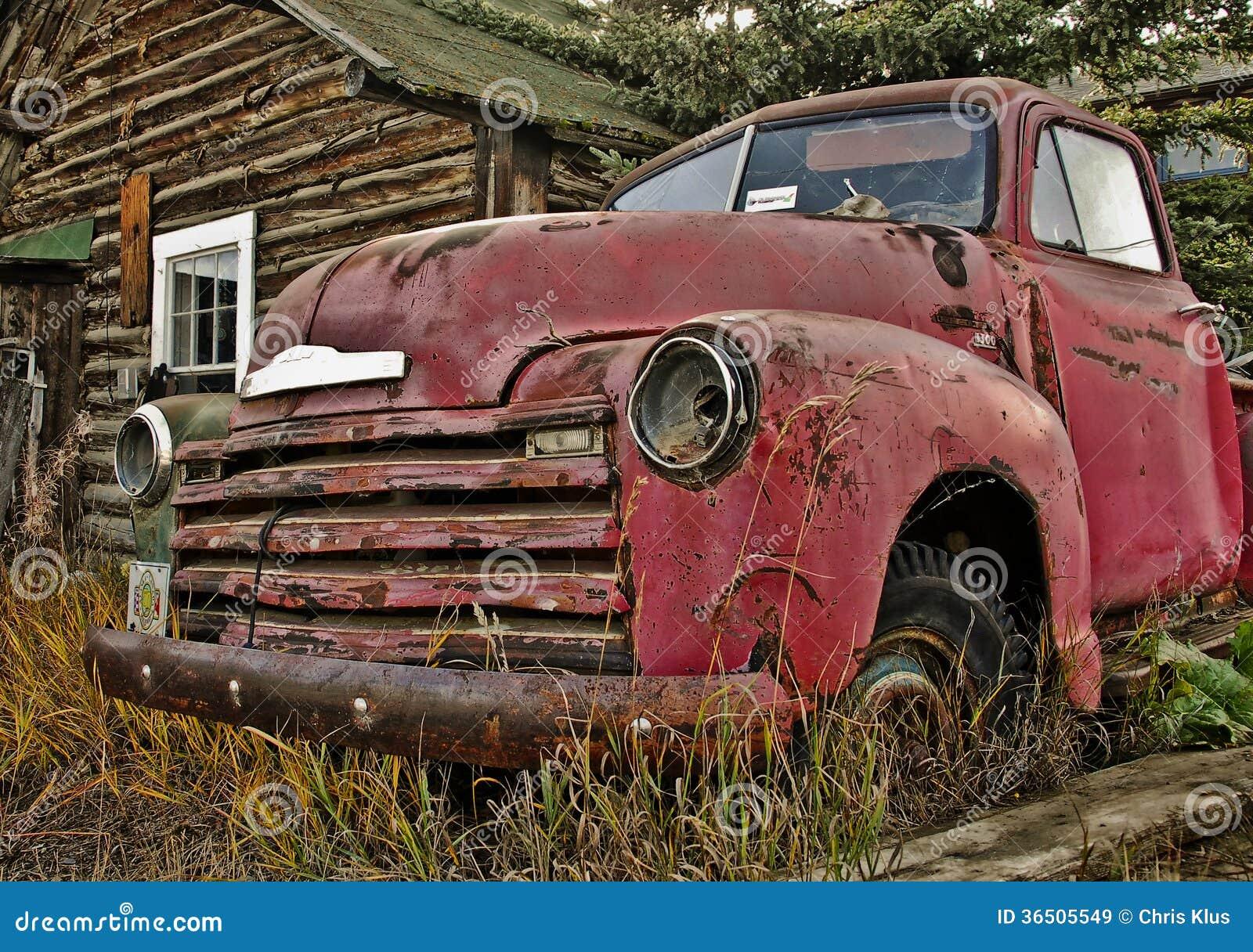 Caminhão velho de Yukon