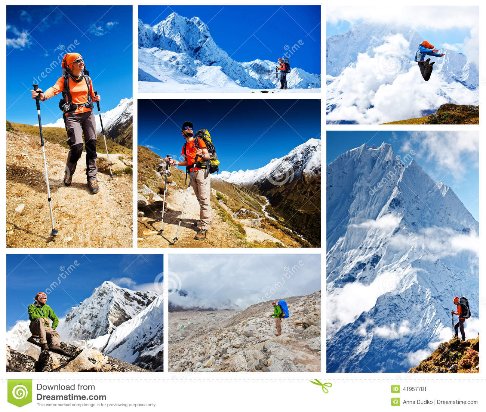 Caminhada no walley de Khumbu