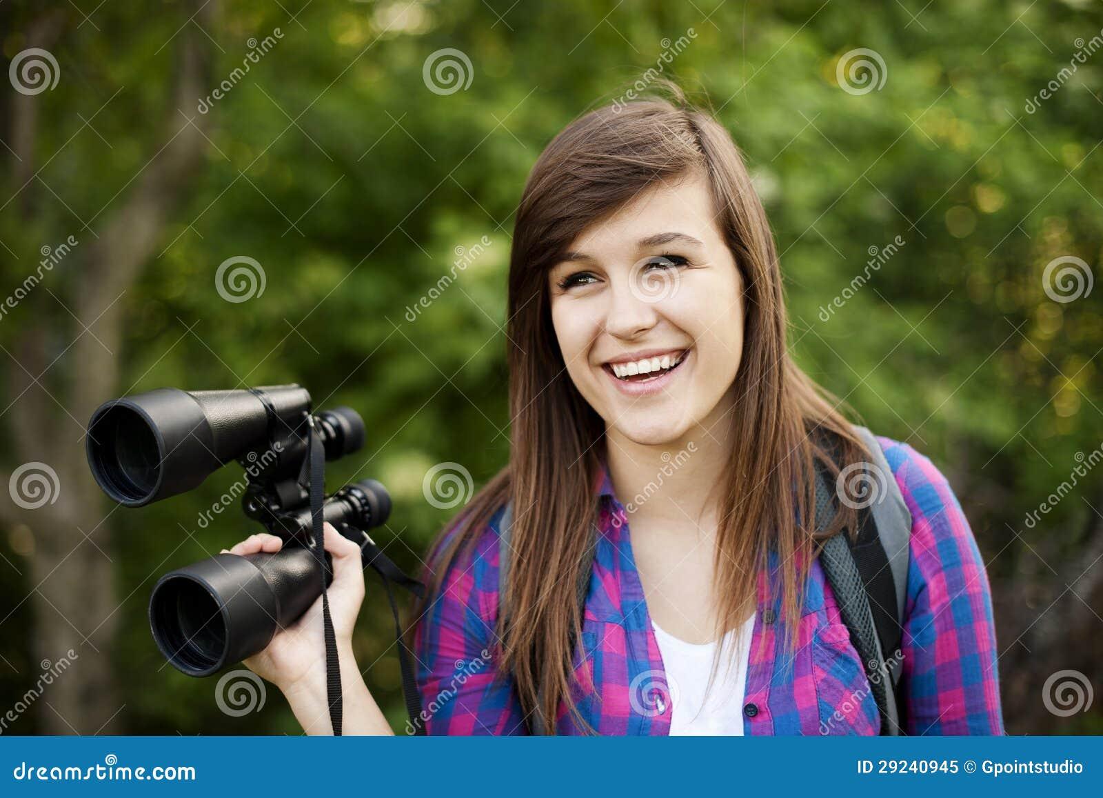Download Caminhante fêmea imagem de stock. Imagem de adolescence - 29240945