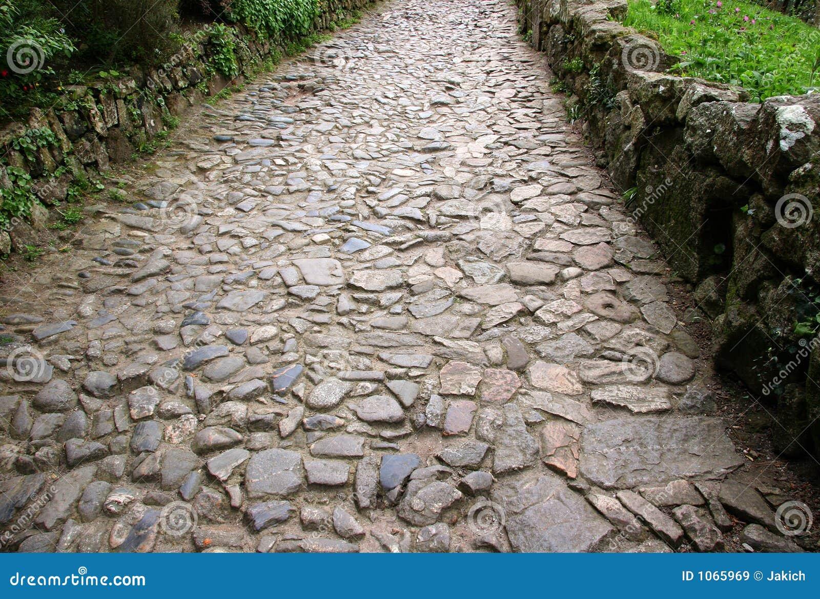 pedra jardim caminho:Stone Pathway
