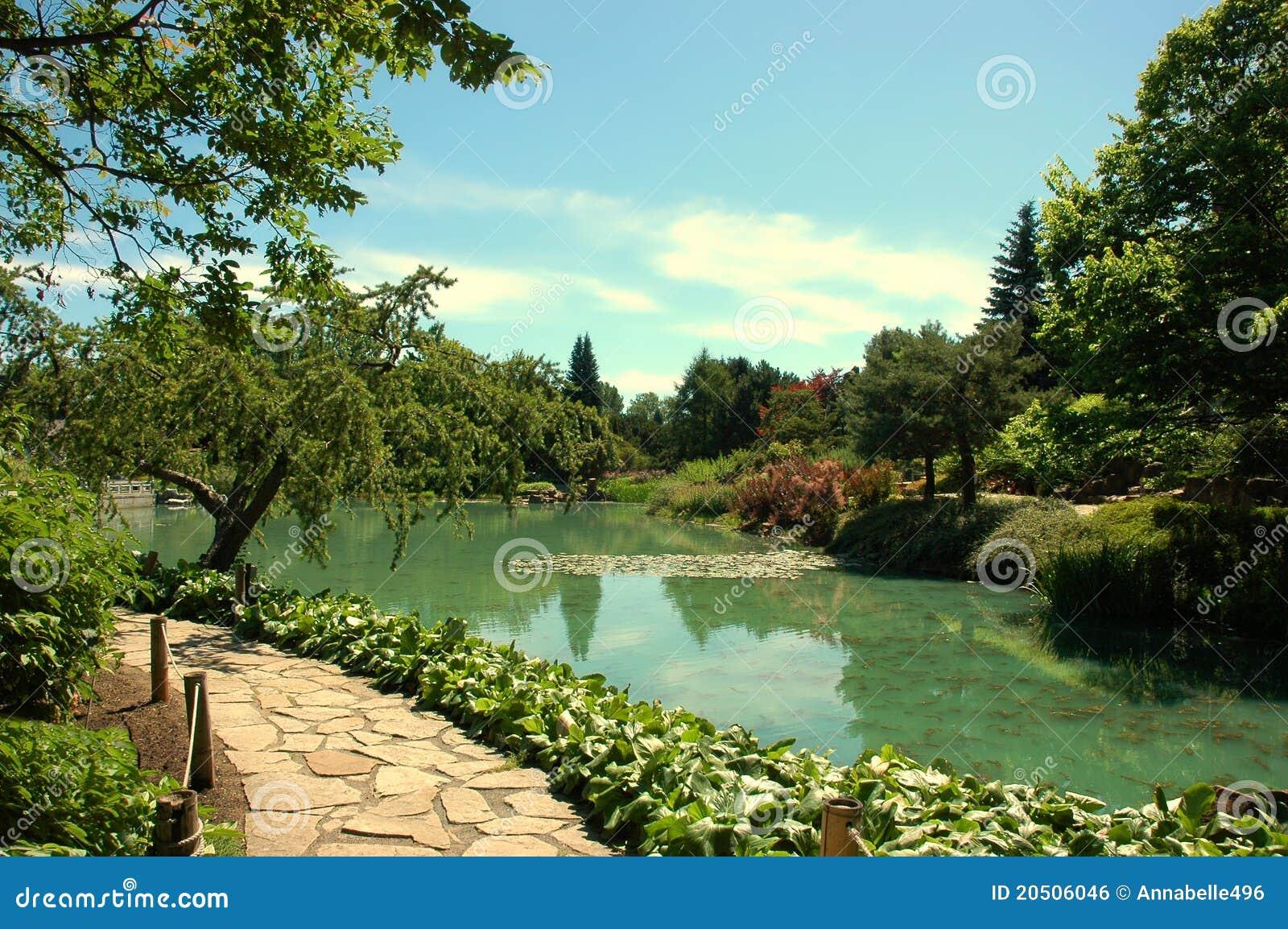 pedra jardim caminho:Stone Pathway Garden