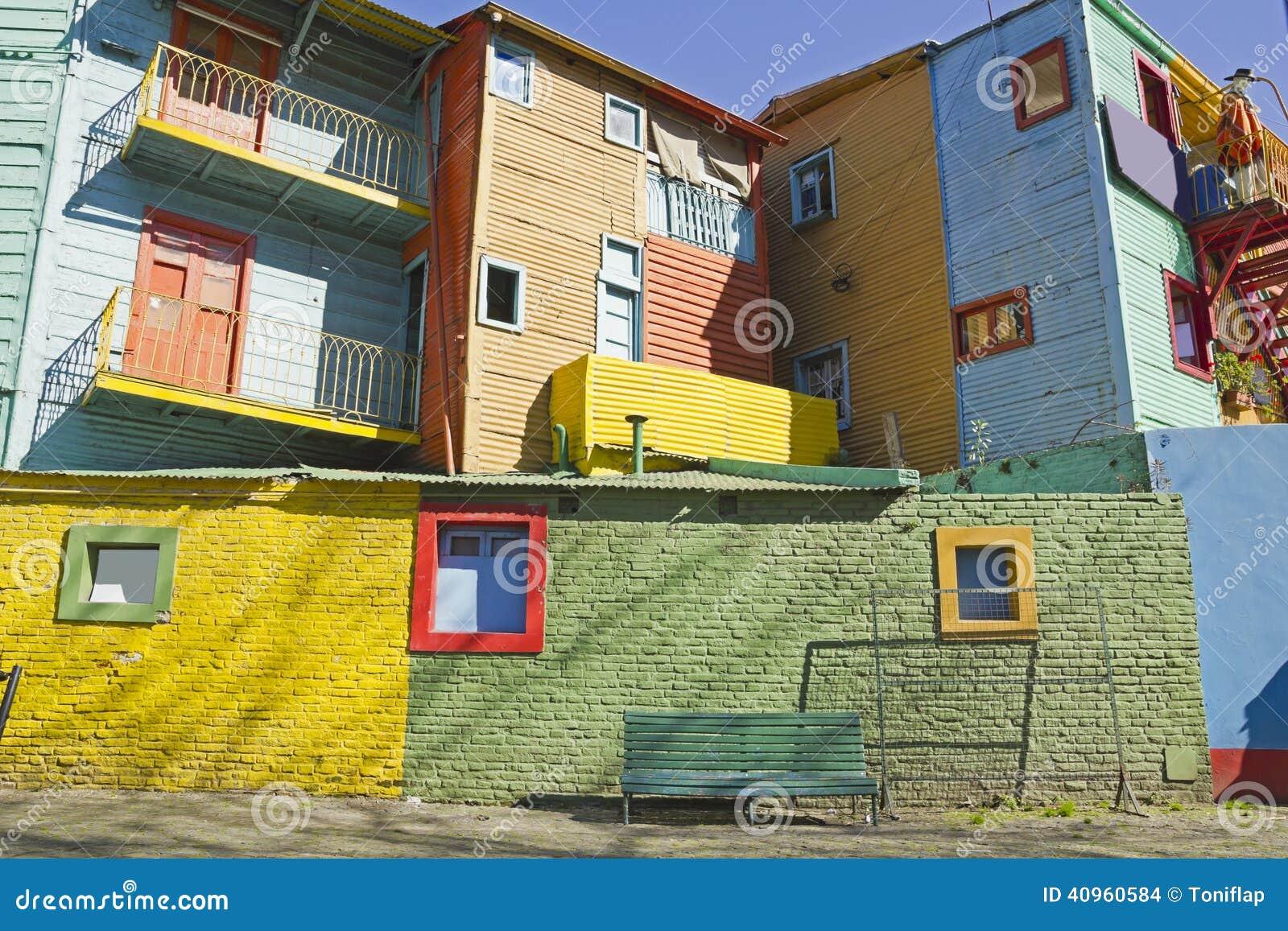 Caminito, district de Boca de La, Buenos Aires, Argentine