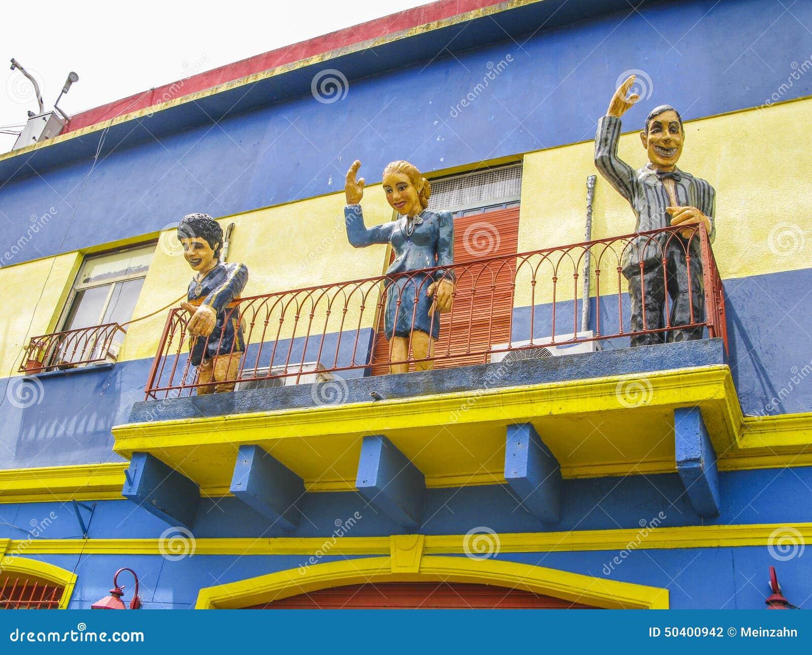 Caminitostraat in La Boca
