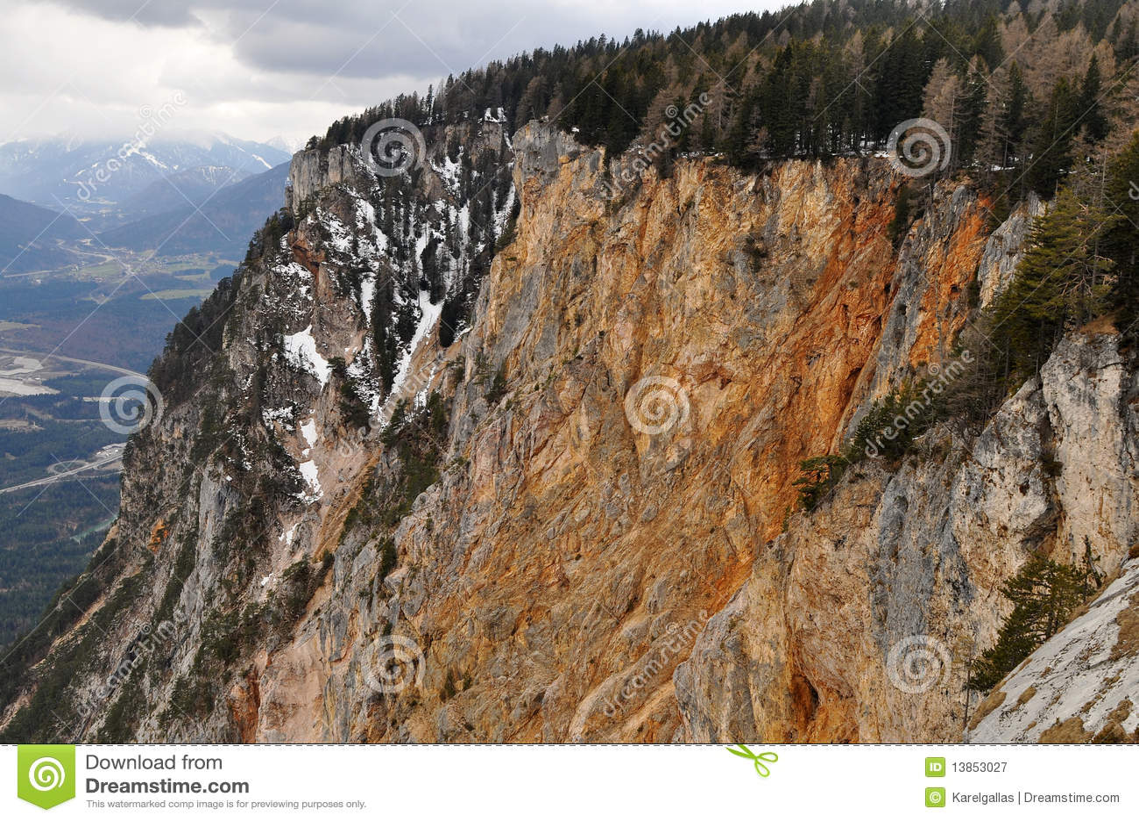 Camino alpestre de Villach, Carinthia, Austria