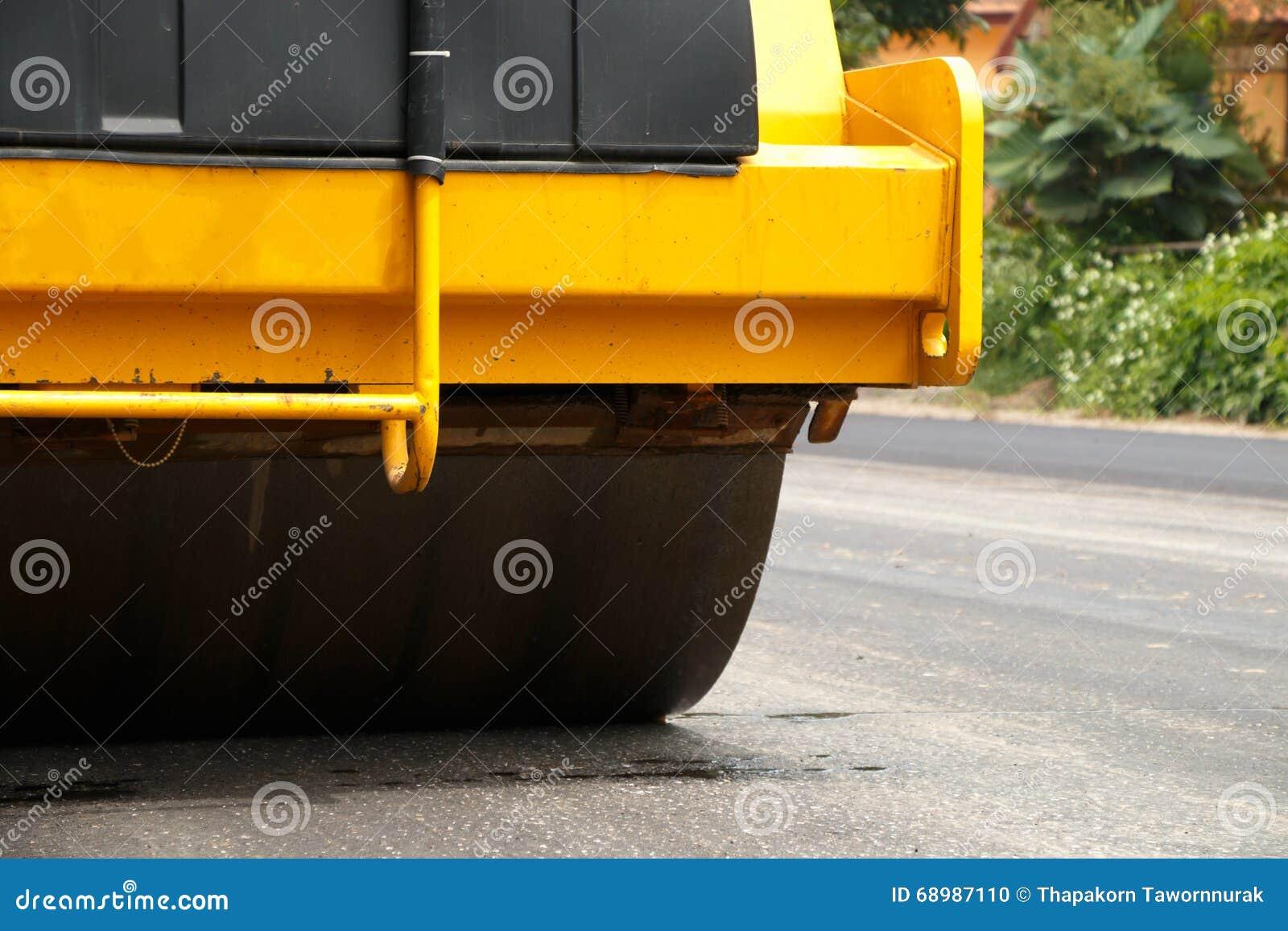 Camino bajo construcción