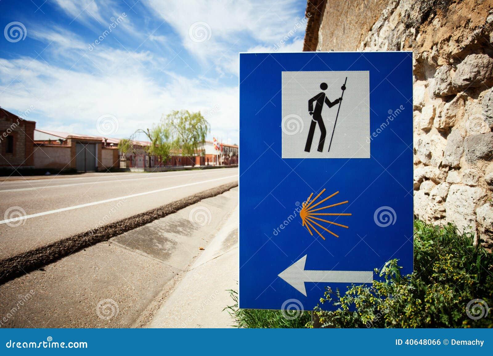 Camino de圣地亚哥的符号