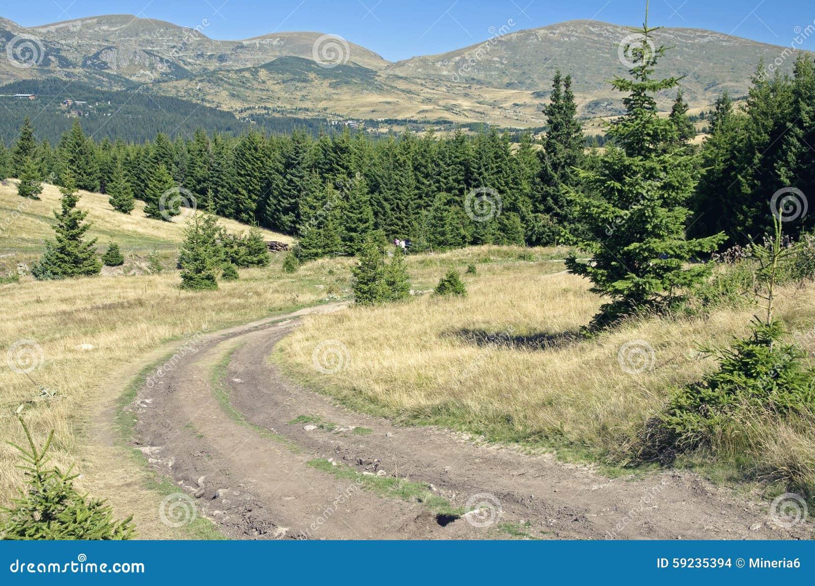Download Camino De La Montaña En Montañas Foto de archivo - Imagen de rural, búlgaro: 59235394