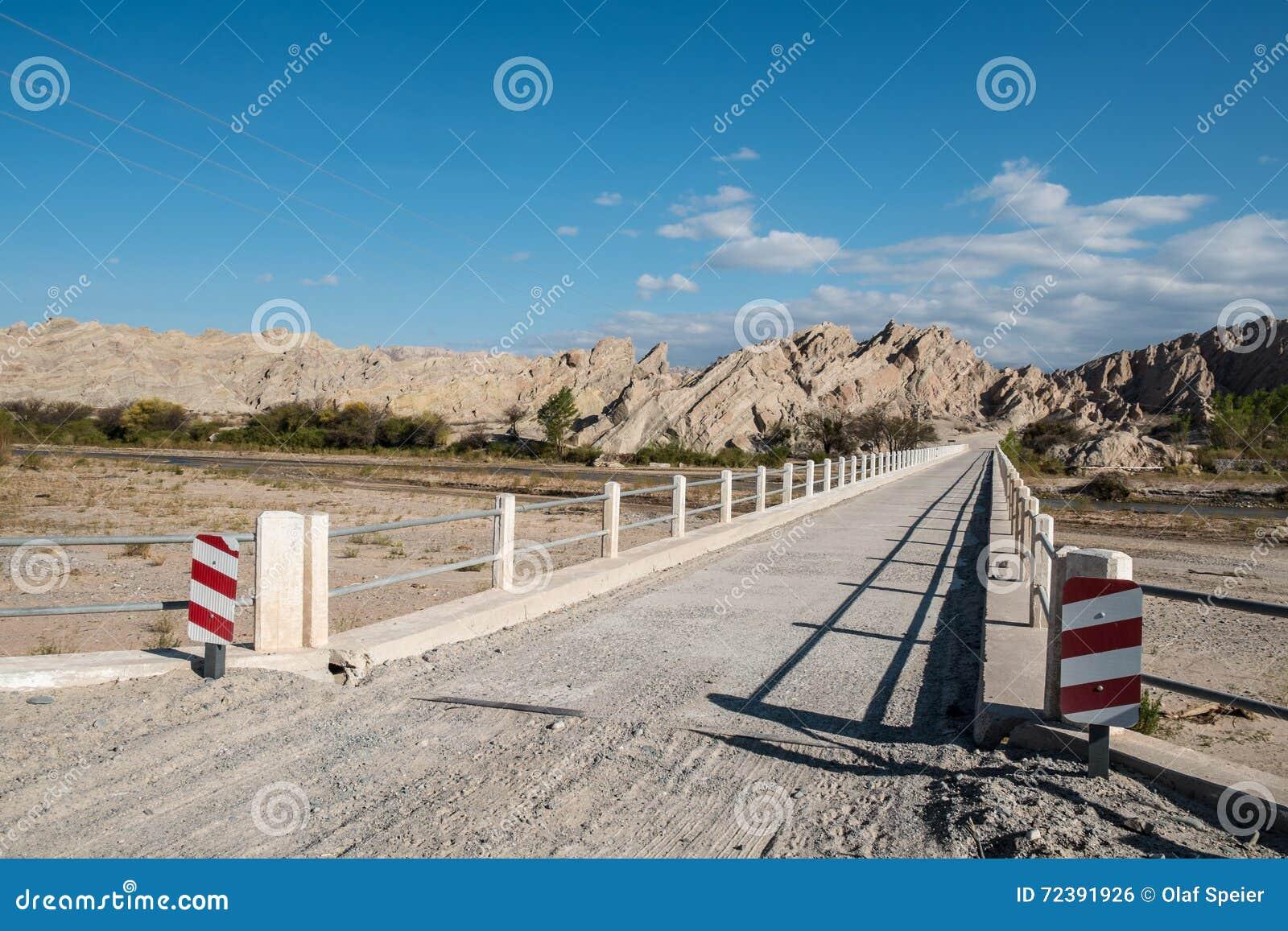 Camino de tierra andino