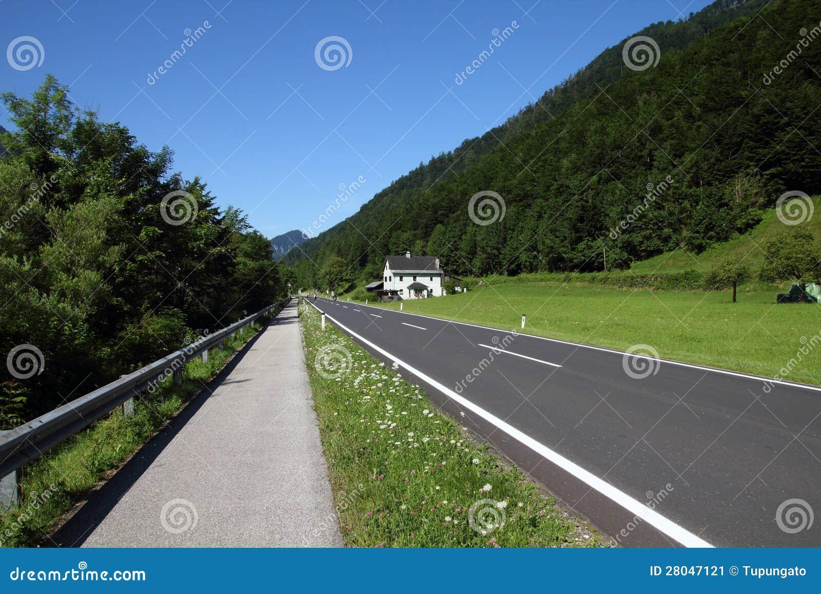 Camino del camino y de la bicicleta