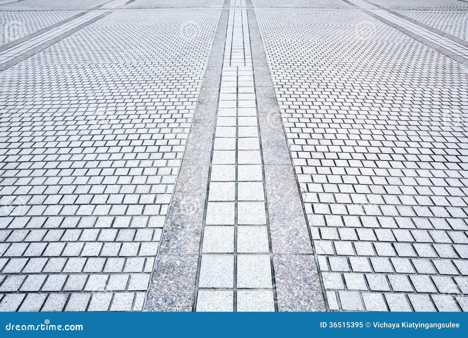 Camino del pavimento