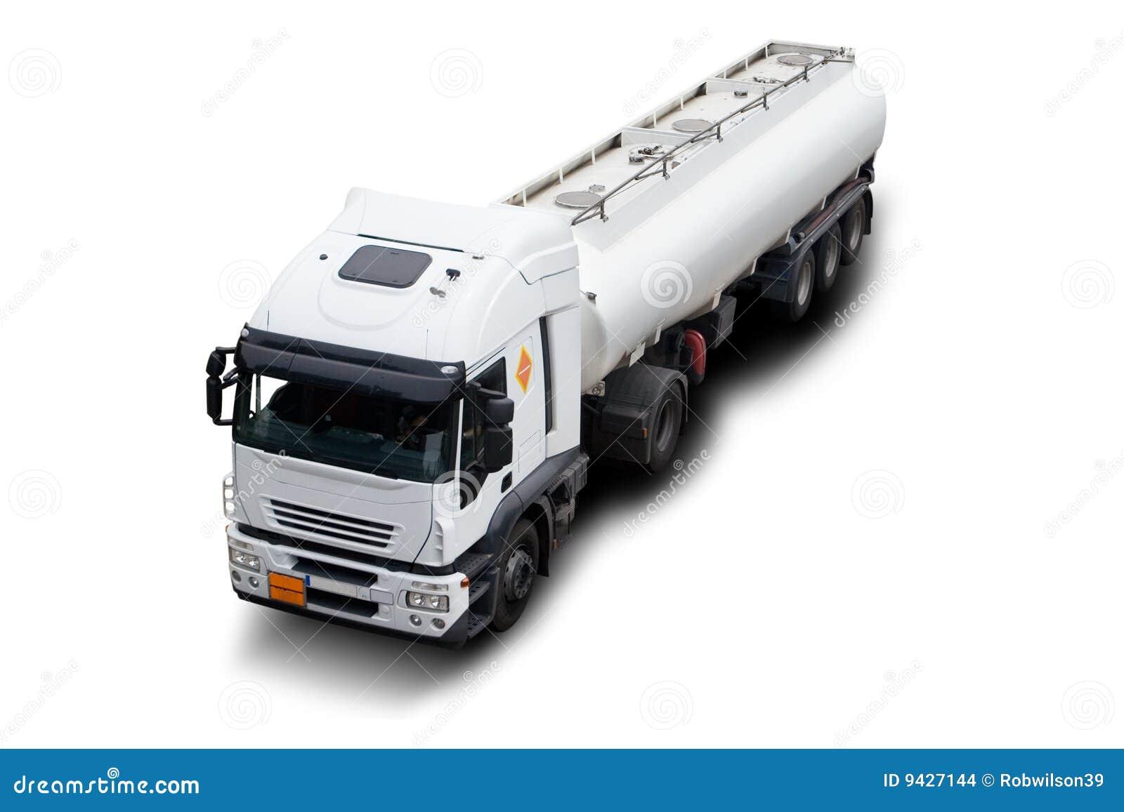 Camion-citerne aspirateur d essence