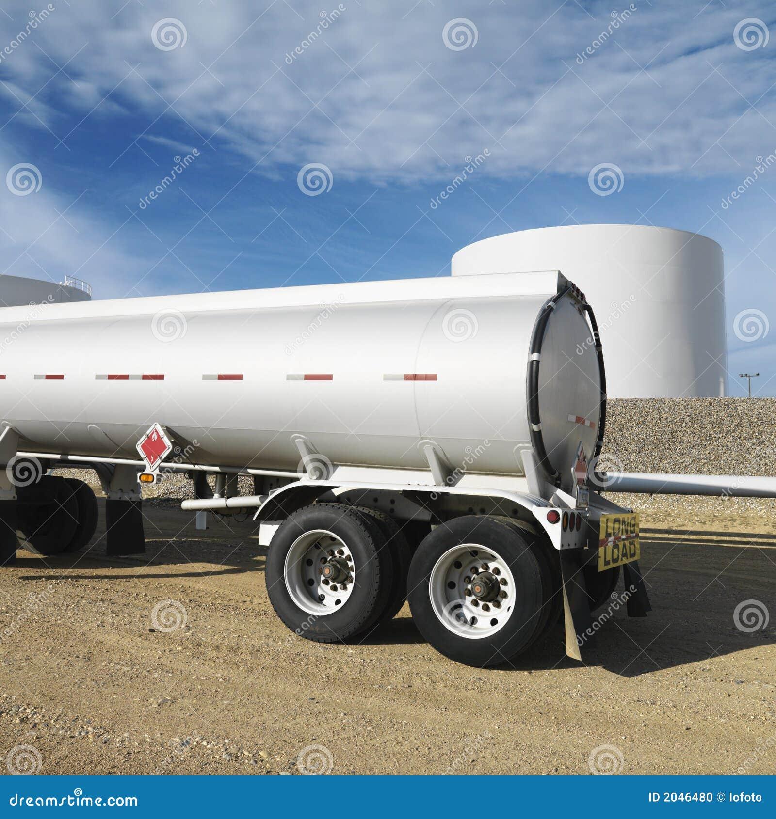 camion citerne d 39 essence photo stock image 2046480. Black Bedroom Furniture Sets. Home Design Ideas
