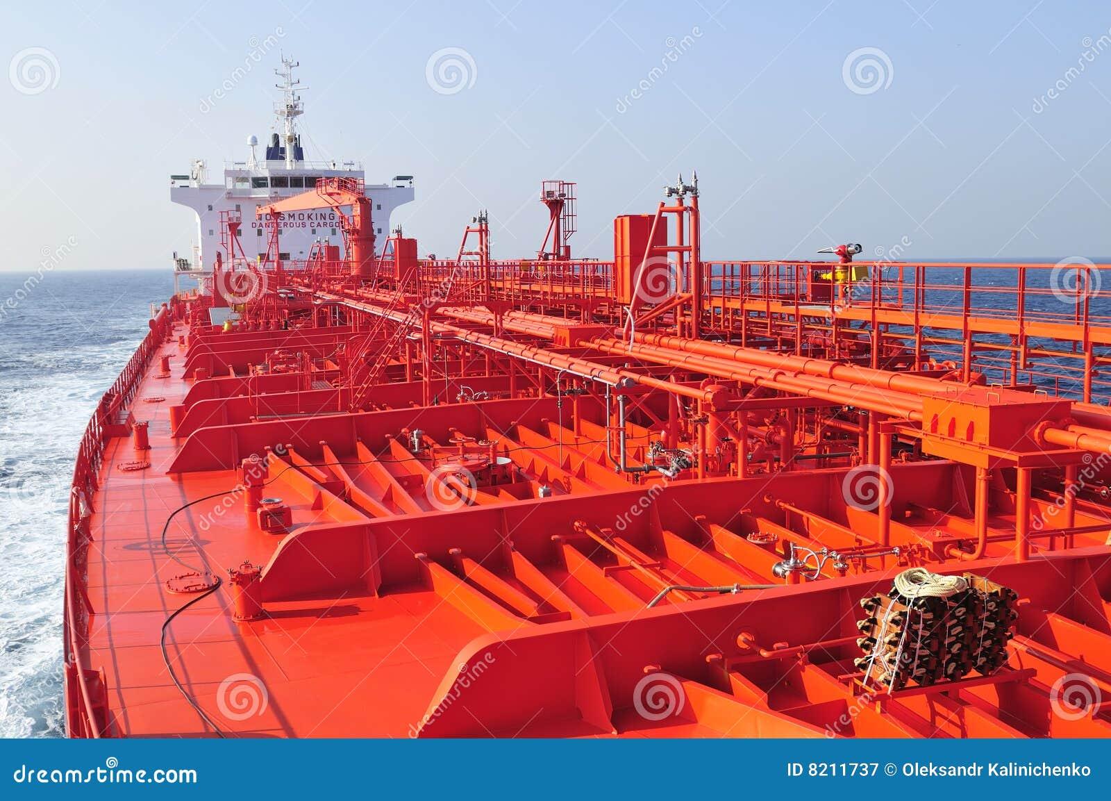 Camion-citerne de bateau de pétrole brut de transporteur
