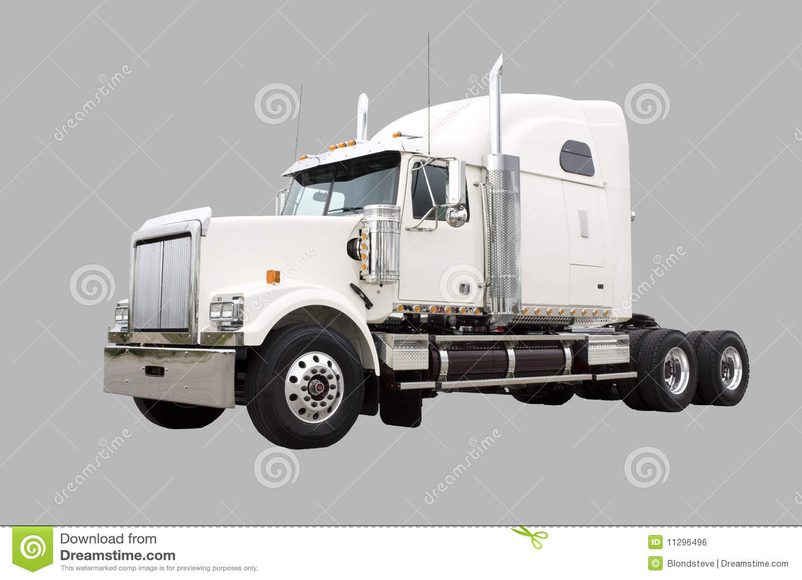 Camion color crema di trasporto