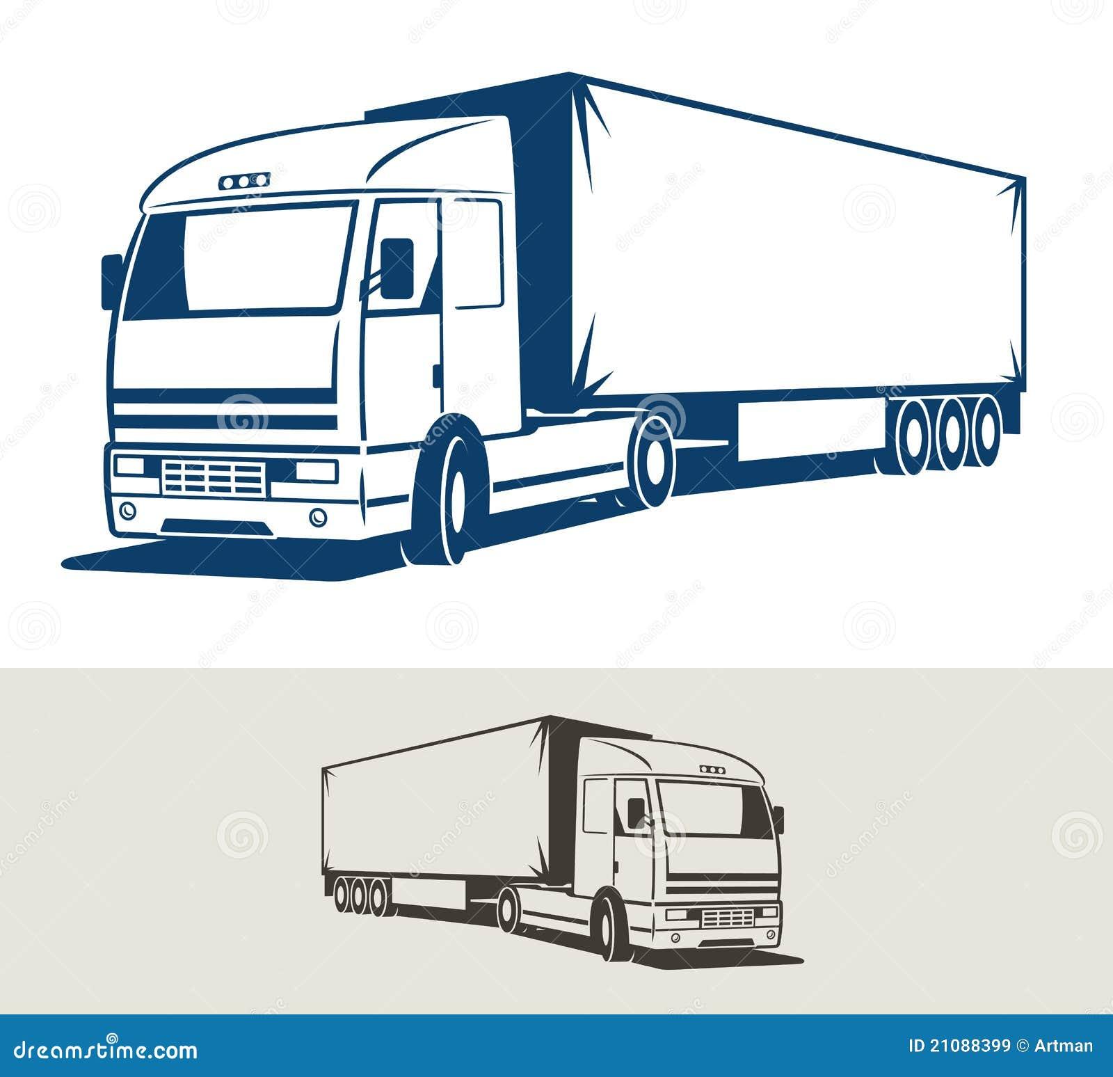 Book logos stock vector image 42714029 - Camion Con Il Semirimorchio Immagini Stock Libere Da Diritti