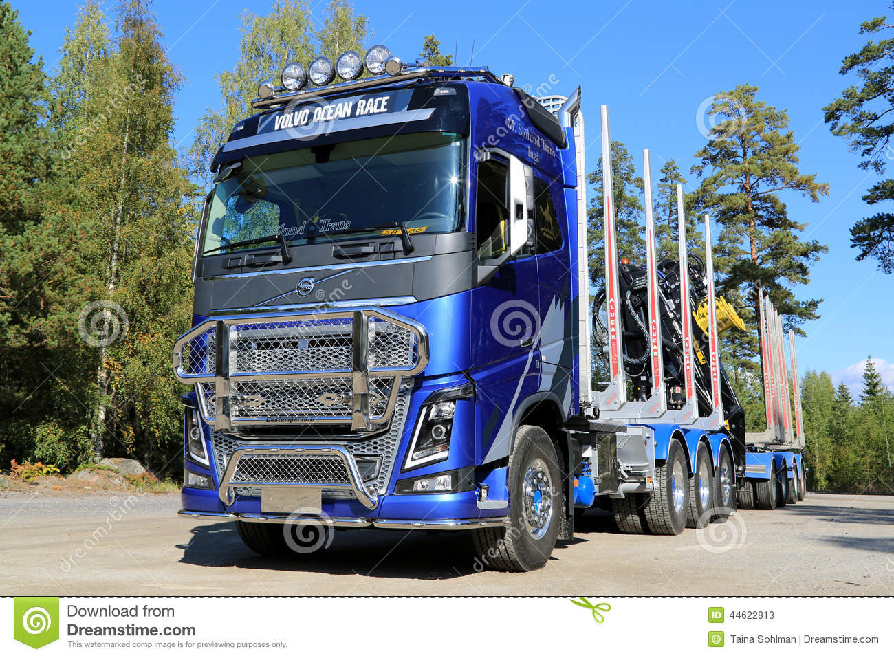Camion d édition de FH16 Volvo Ocean Race Limited pour le transport de bois de construction