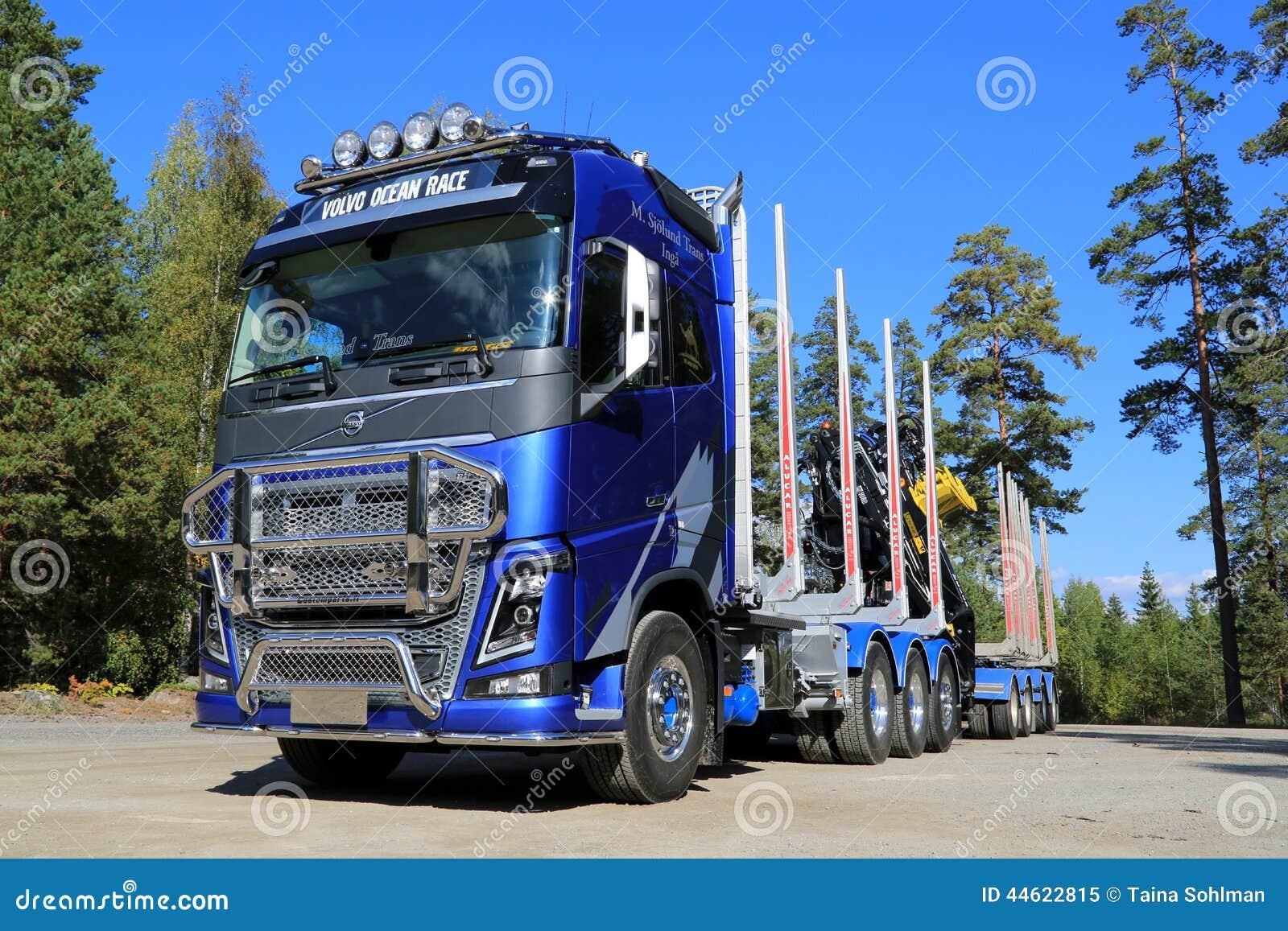 édition de FH16 Volvo Ocean Race Limited pour le transport de bois de  ~ Camion Transport De Bois