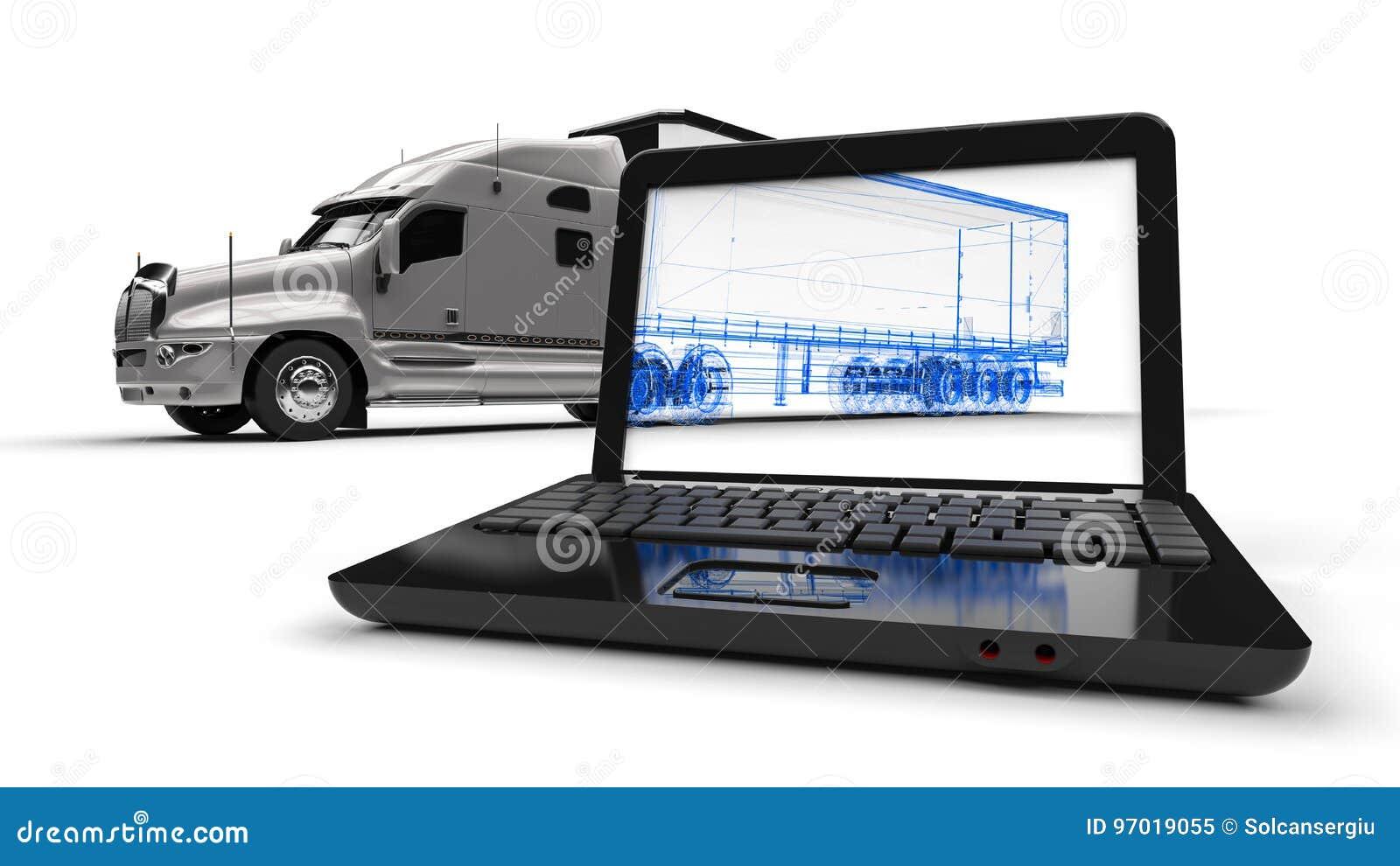 Camion de cadre de fil