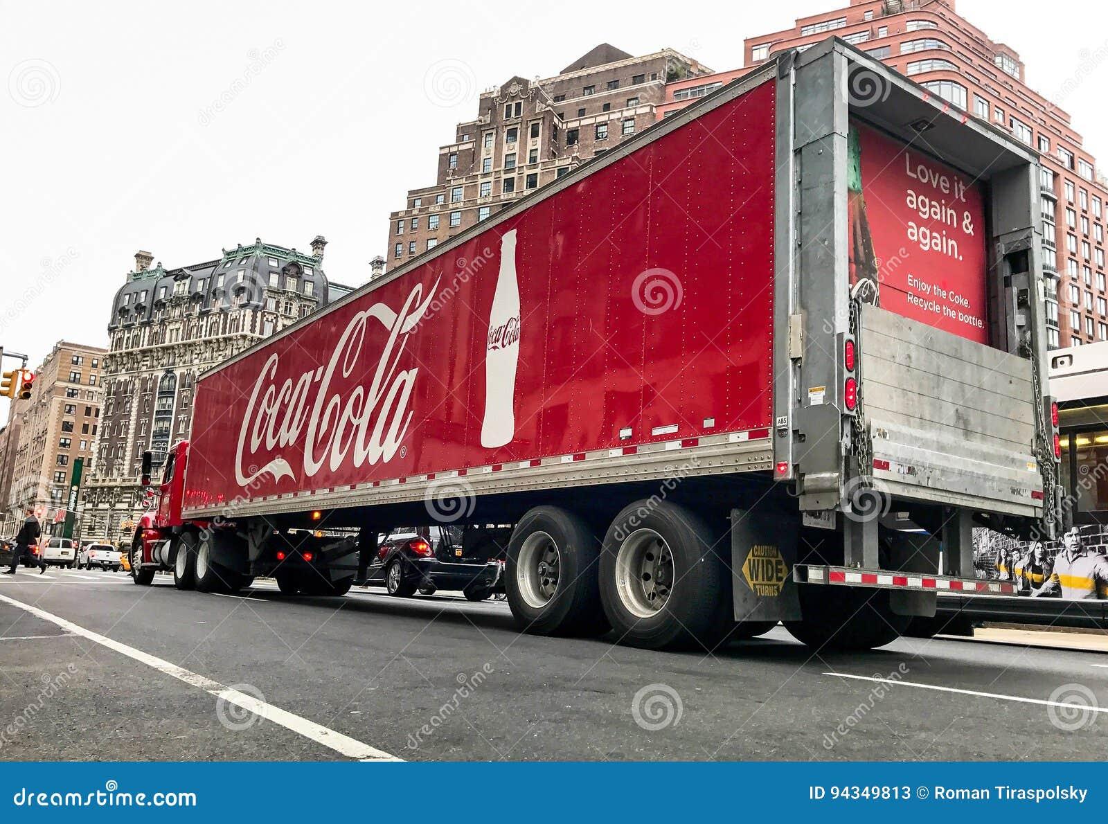 Camion de coca-cola