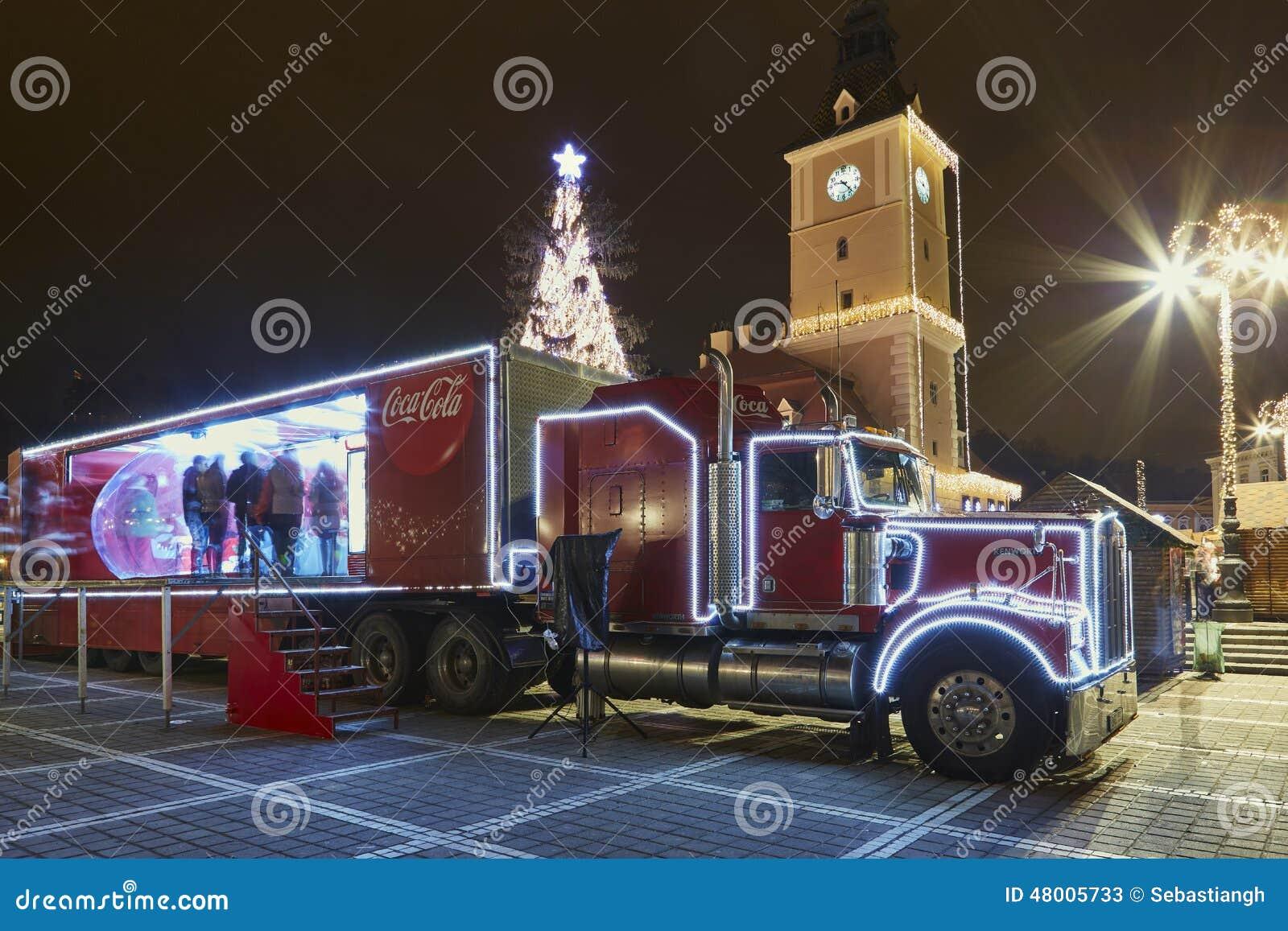 Photo Camion Decore De Nuit