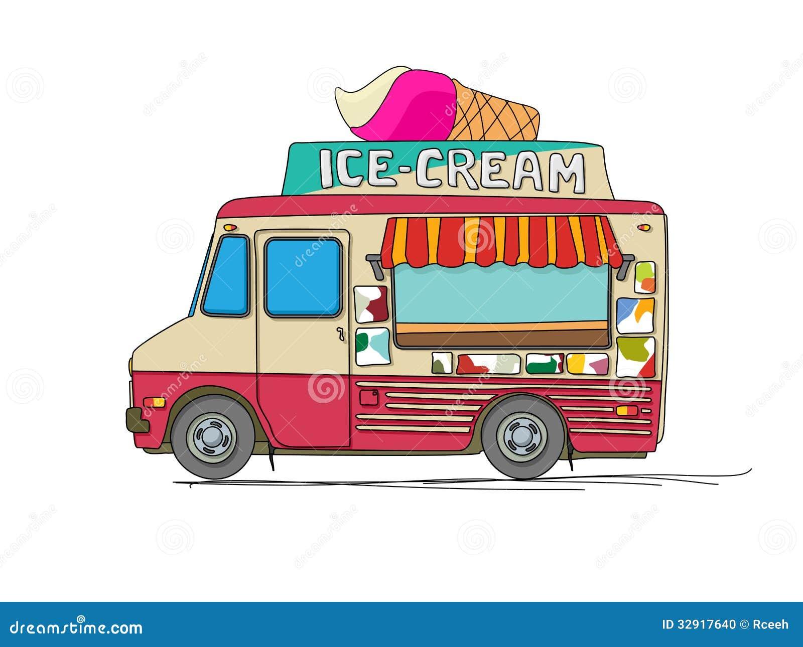Camion de crème glacée