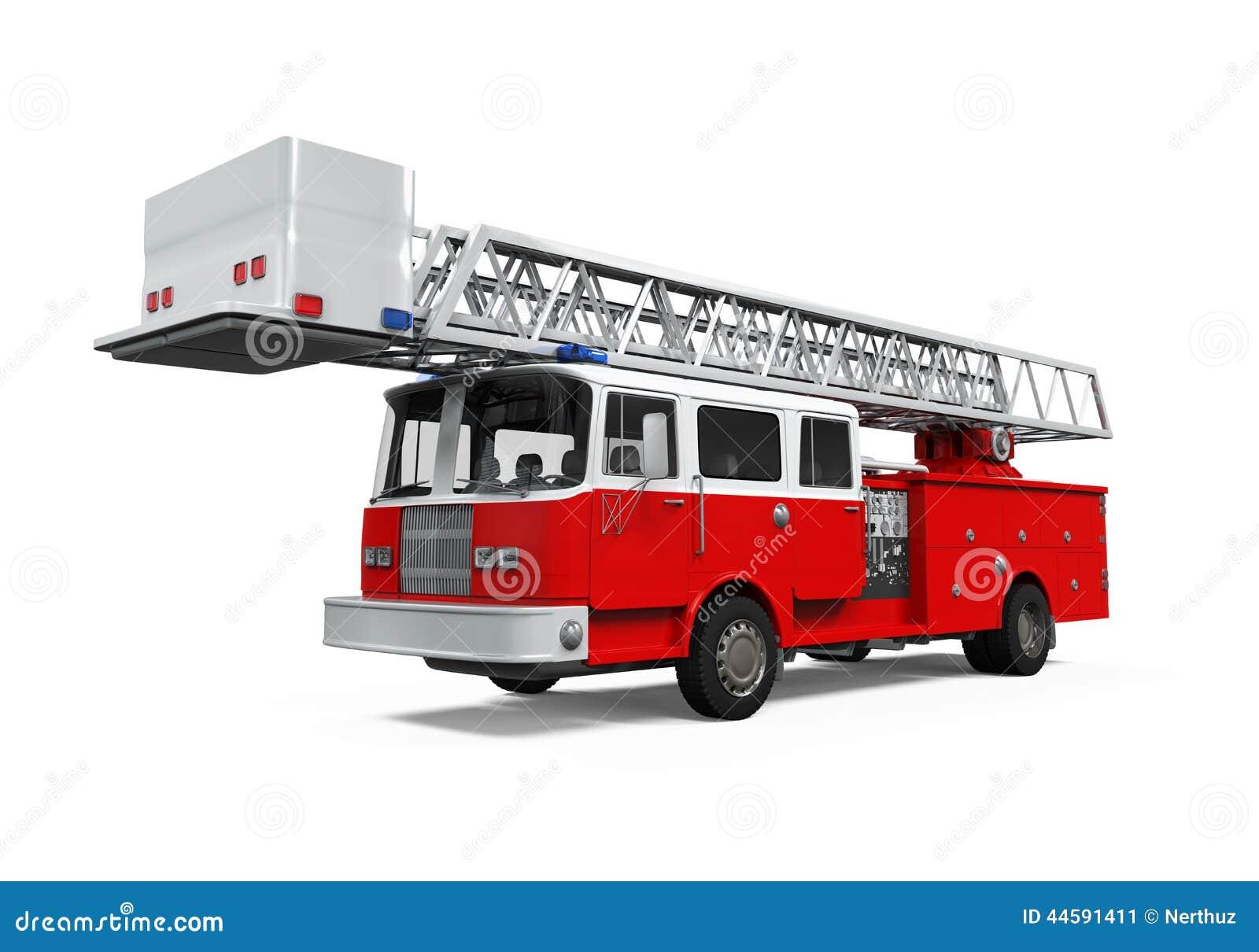 Camion de délivrance du feu