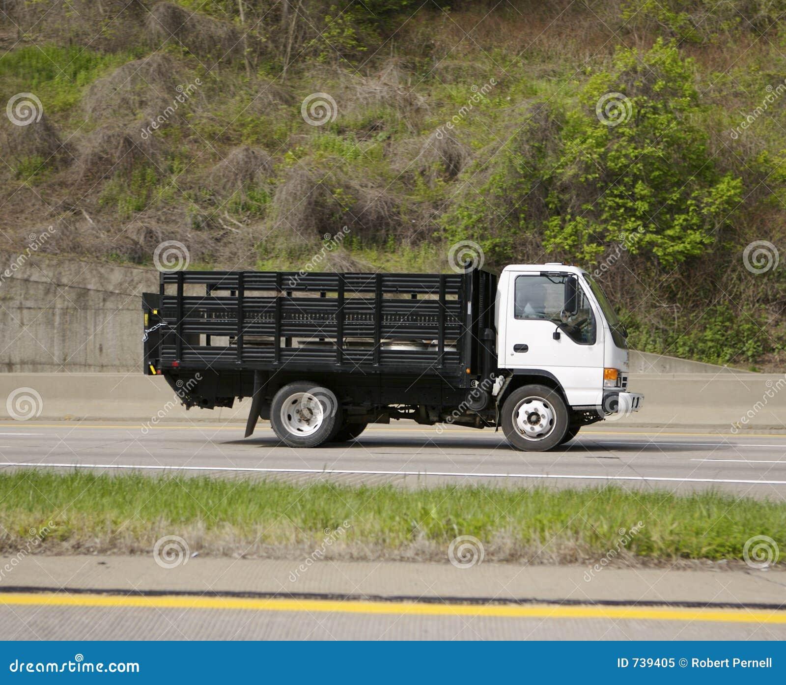 Camion de distribution