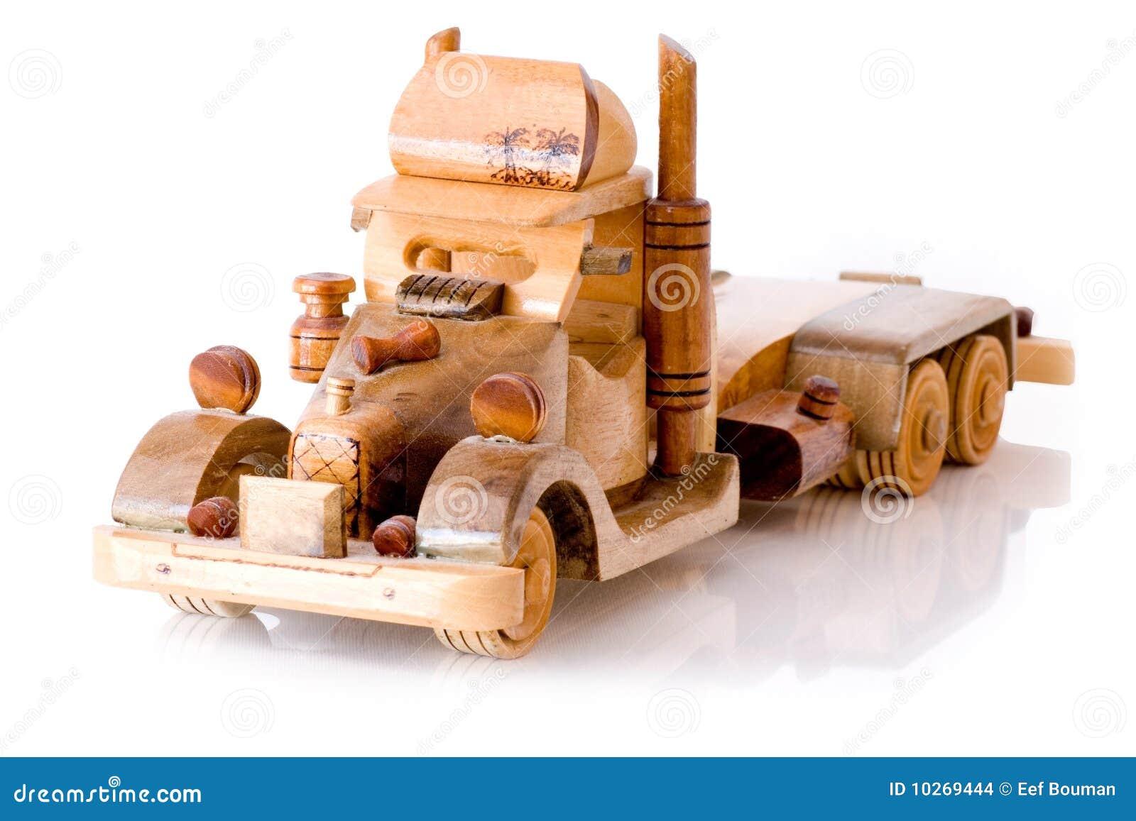 Camion De Jouet En Bois Images stock - Image: 10269444