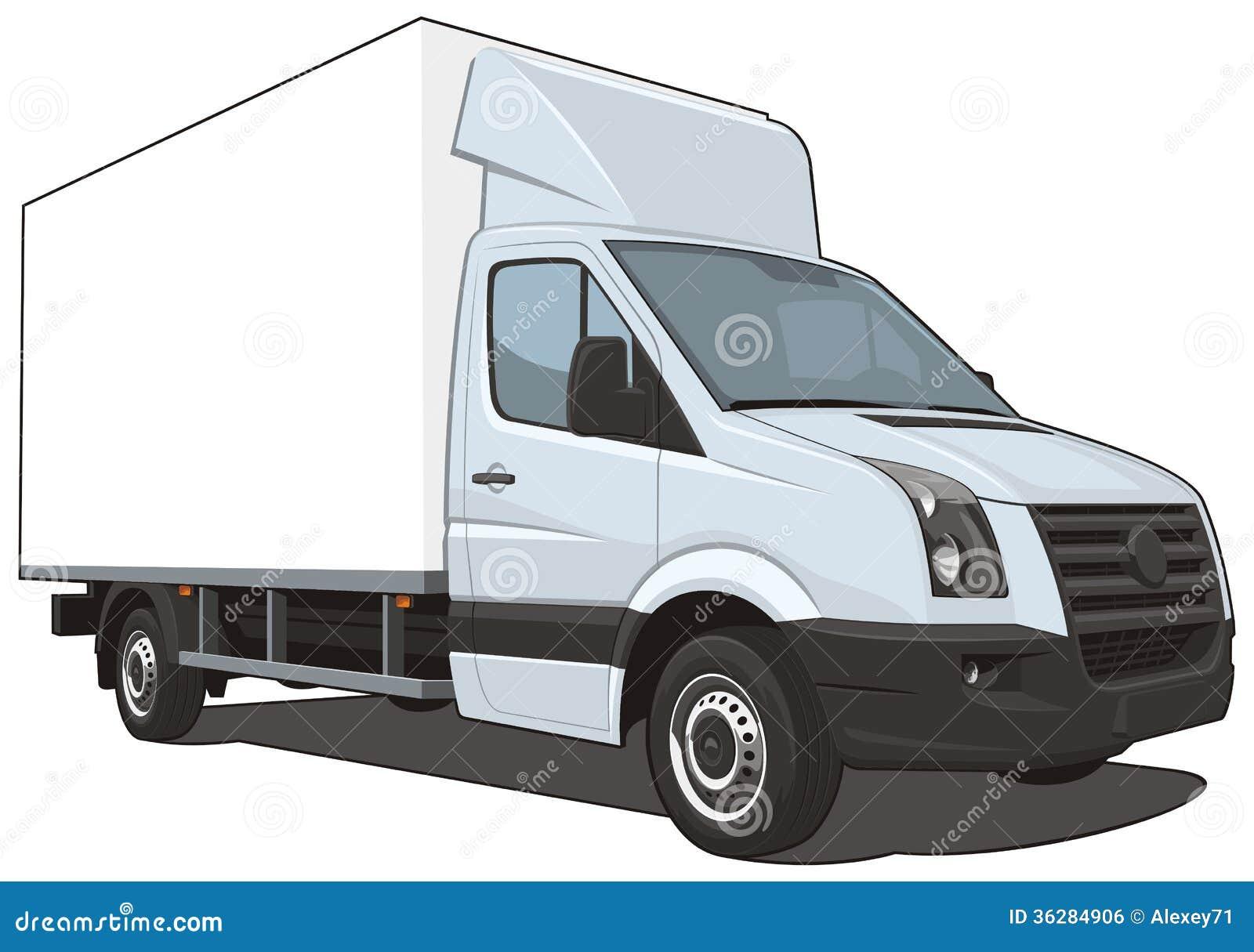 camion de livraison image libre de droits image 36284906. Black Bedroom Furniture Sets. Home Design Ideas