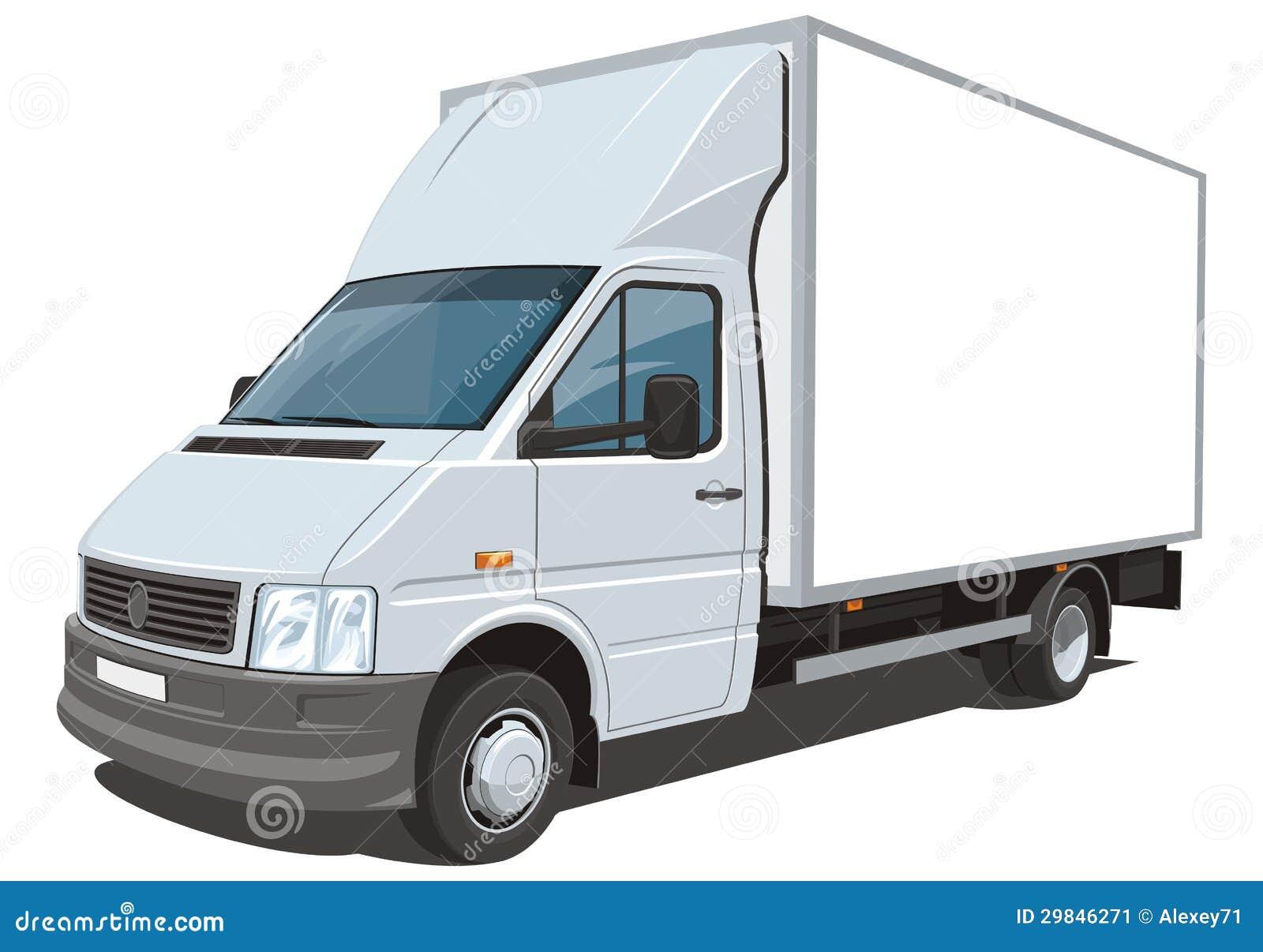 camion de livraison image stock image 29846271. Black Bedroom Furniture Sets. Home Design Ideas