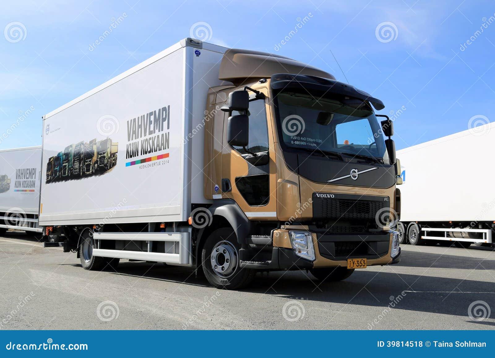 camion de livraison de volvo fl512 photo stock ditorial image 39814518. Black Bedroom Furniture Sets. Home Design Ideas