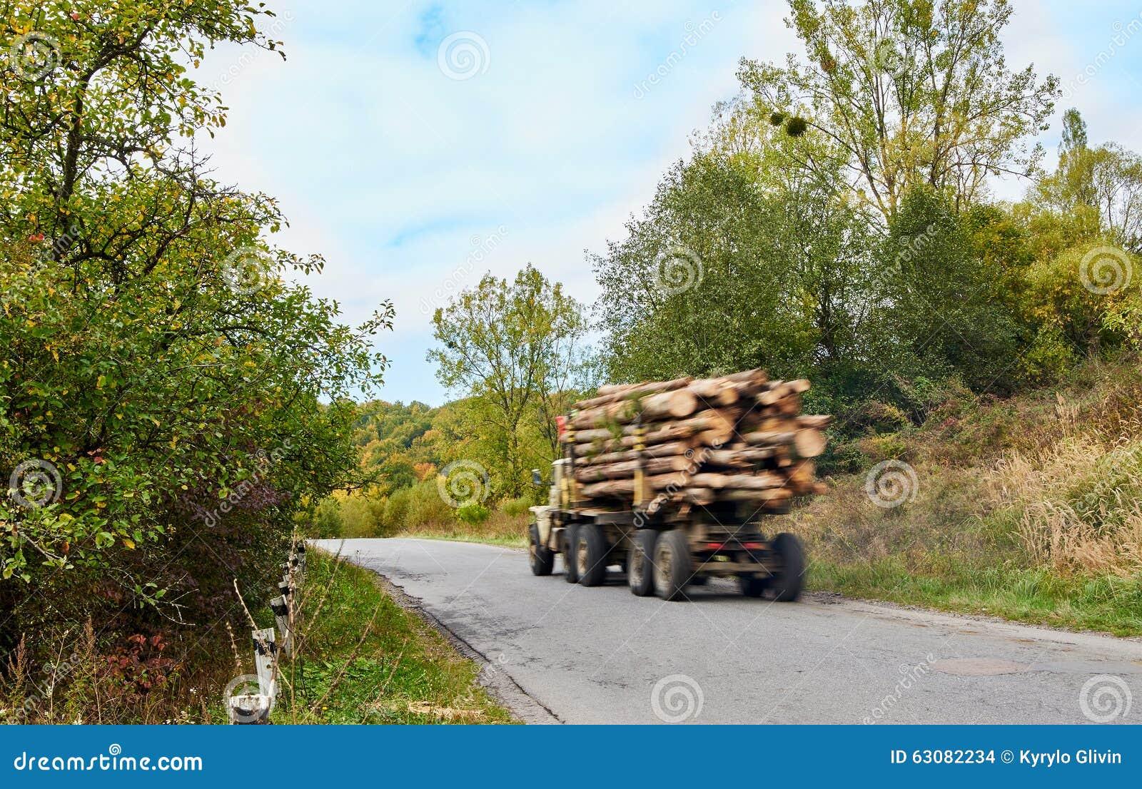 Download Camion De Notation De Bois De Construction De Camion Photo stock - Image du remorque, bois: 63082234