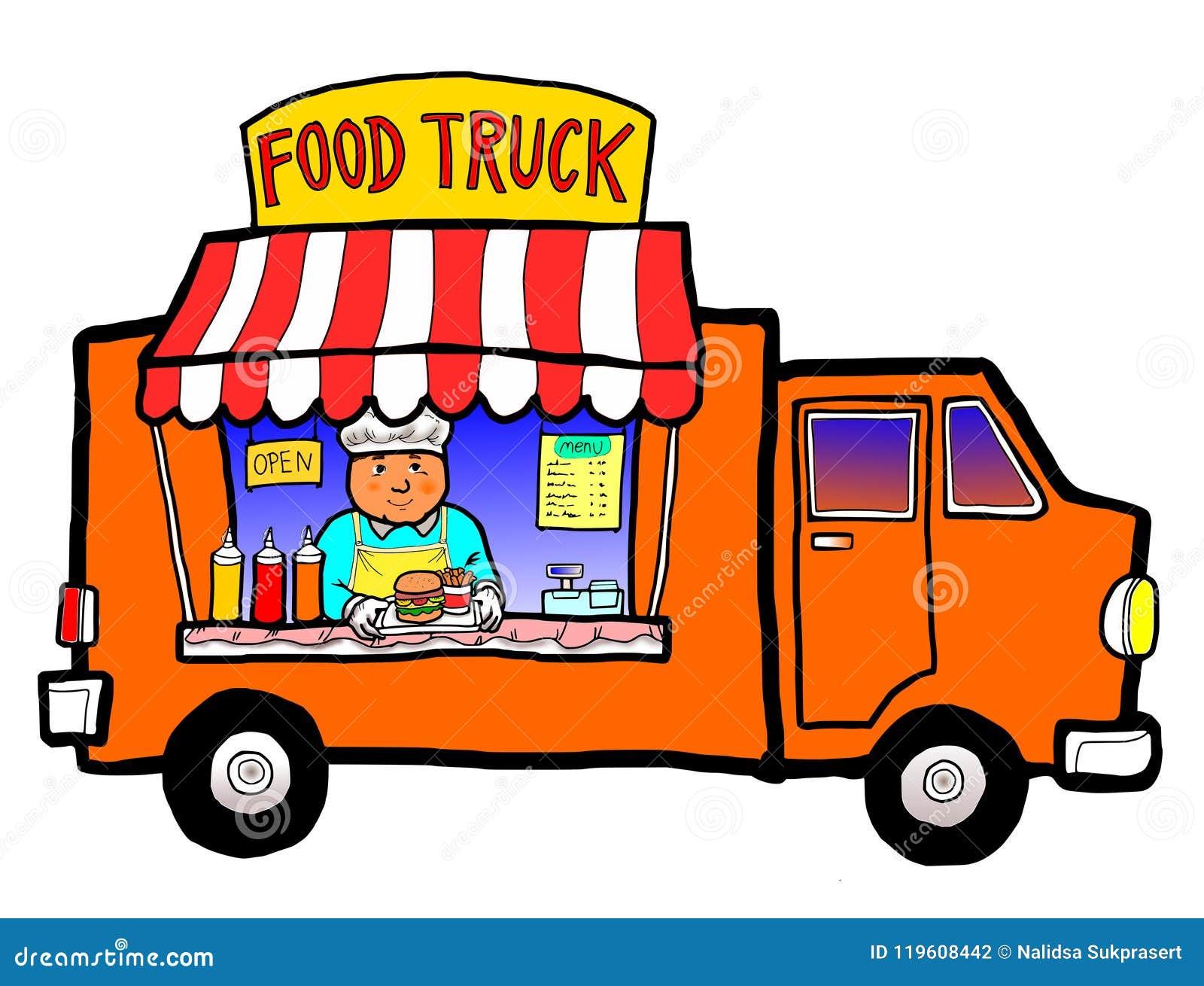 Camion de nourriture de rue