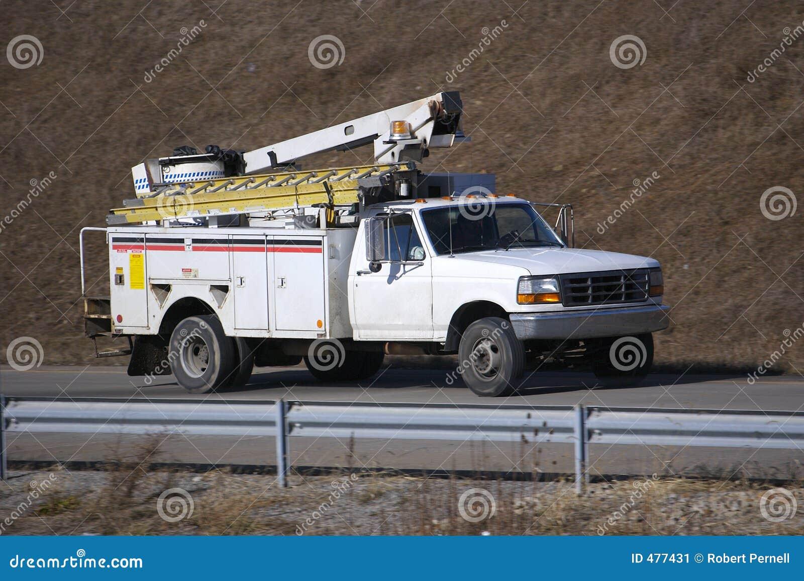 Camion de service