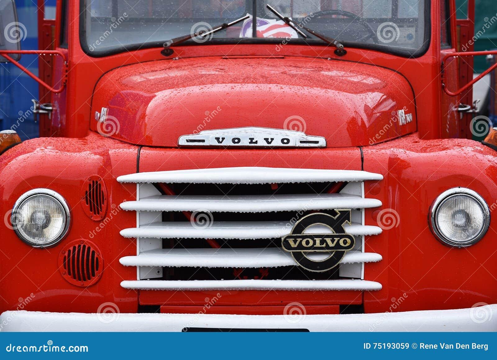 Camion de Volvo d Oldtimer