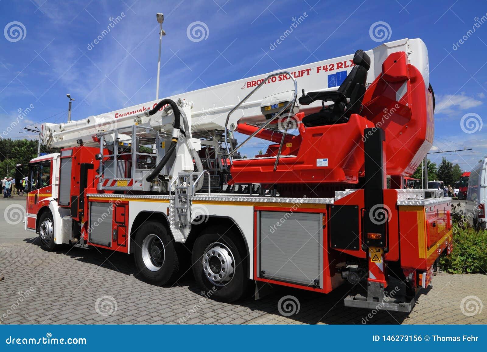 Camion dei vigili del fuoco tedesco