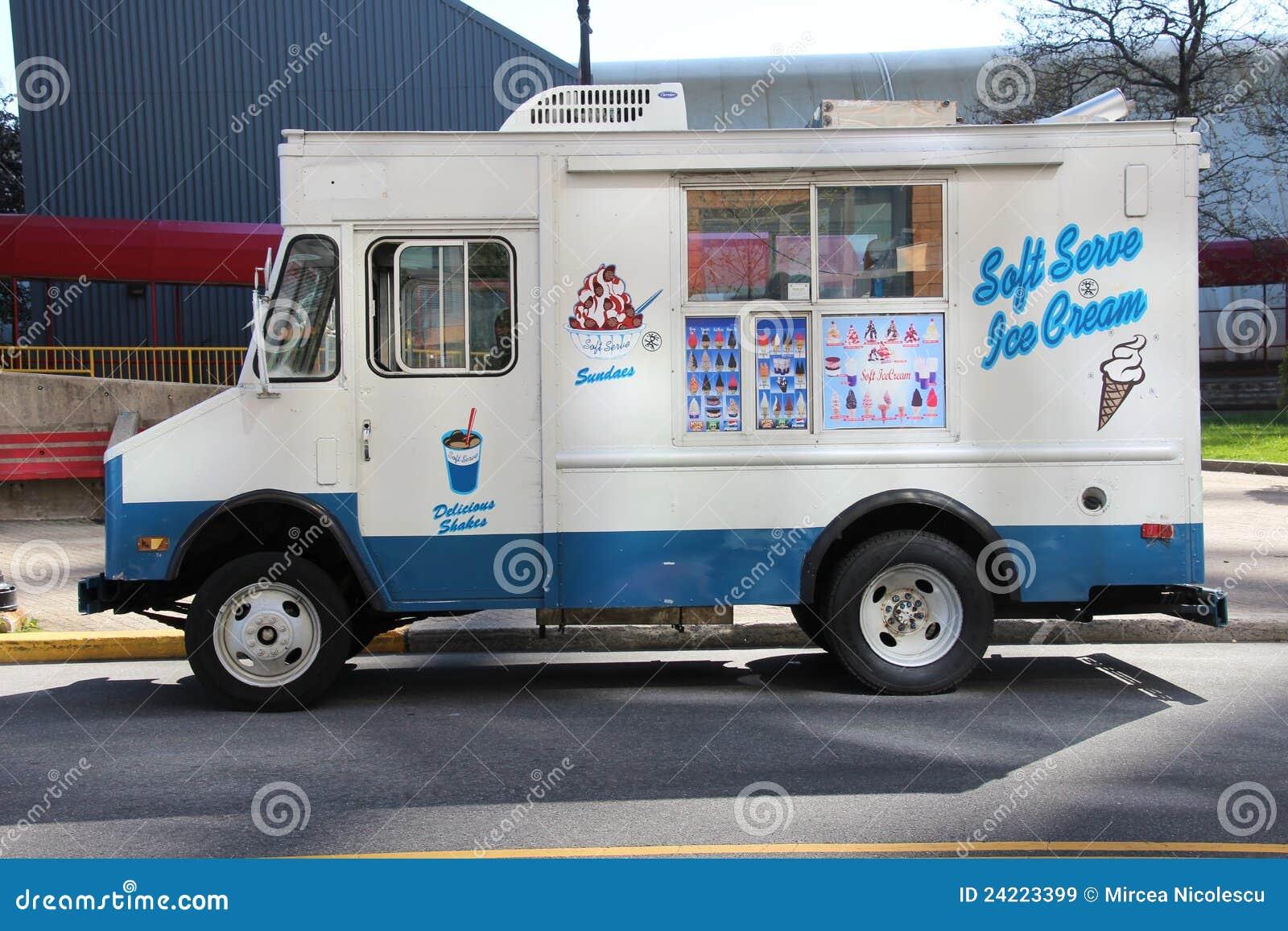 Camion Del Gelato Immagine Stock Editoriale Immagine Di Tradizione