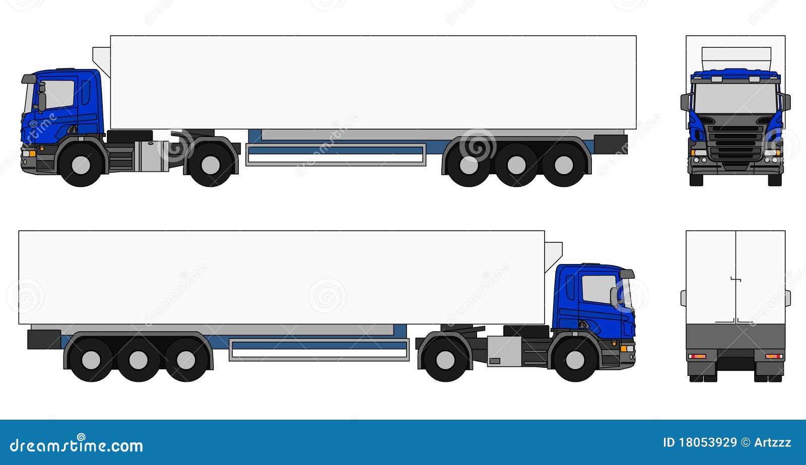 Camion del semirimorchio