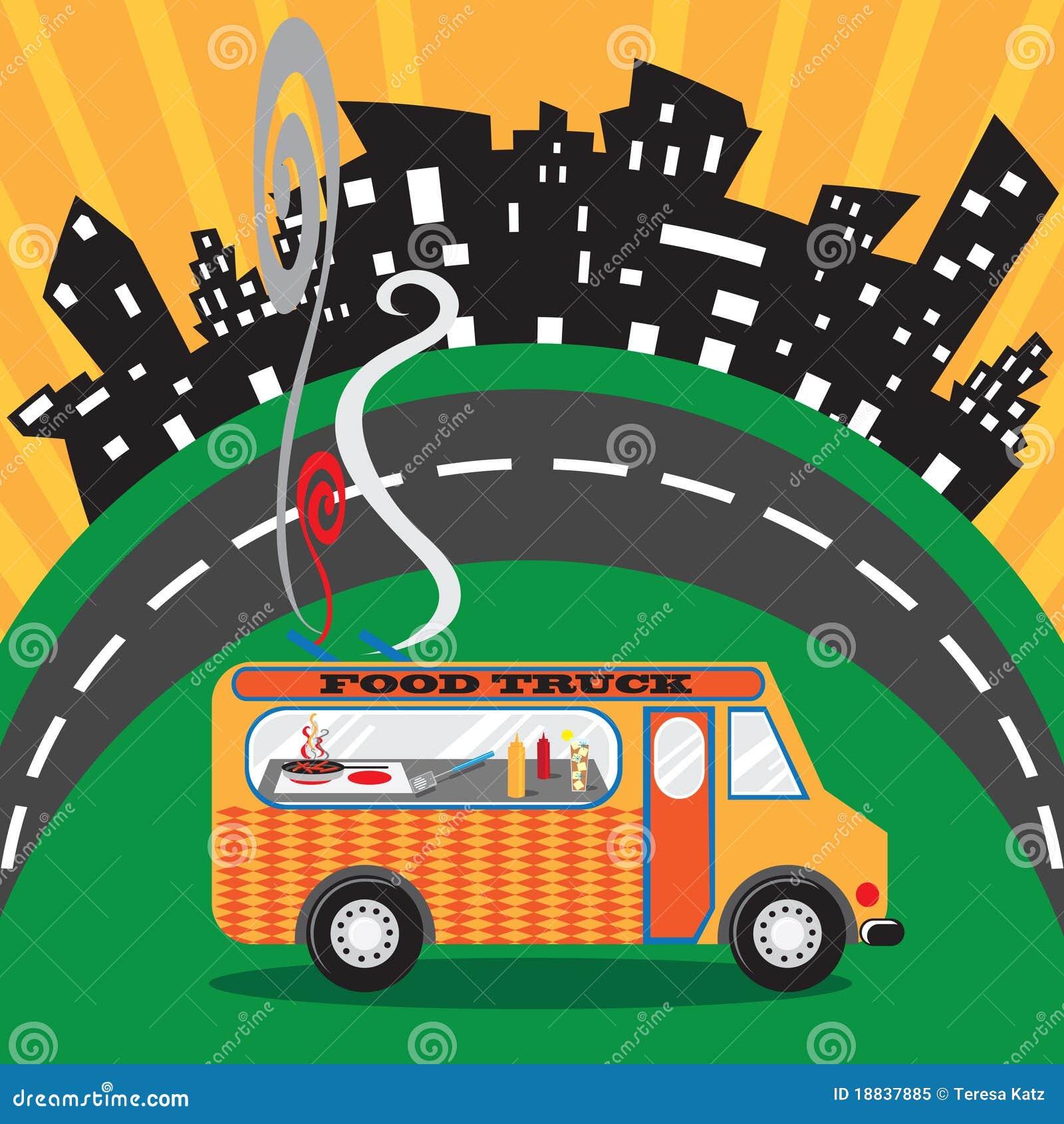 Camion dell alimento