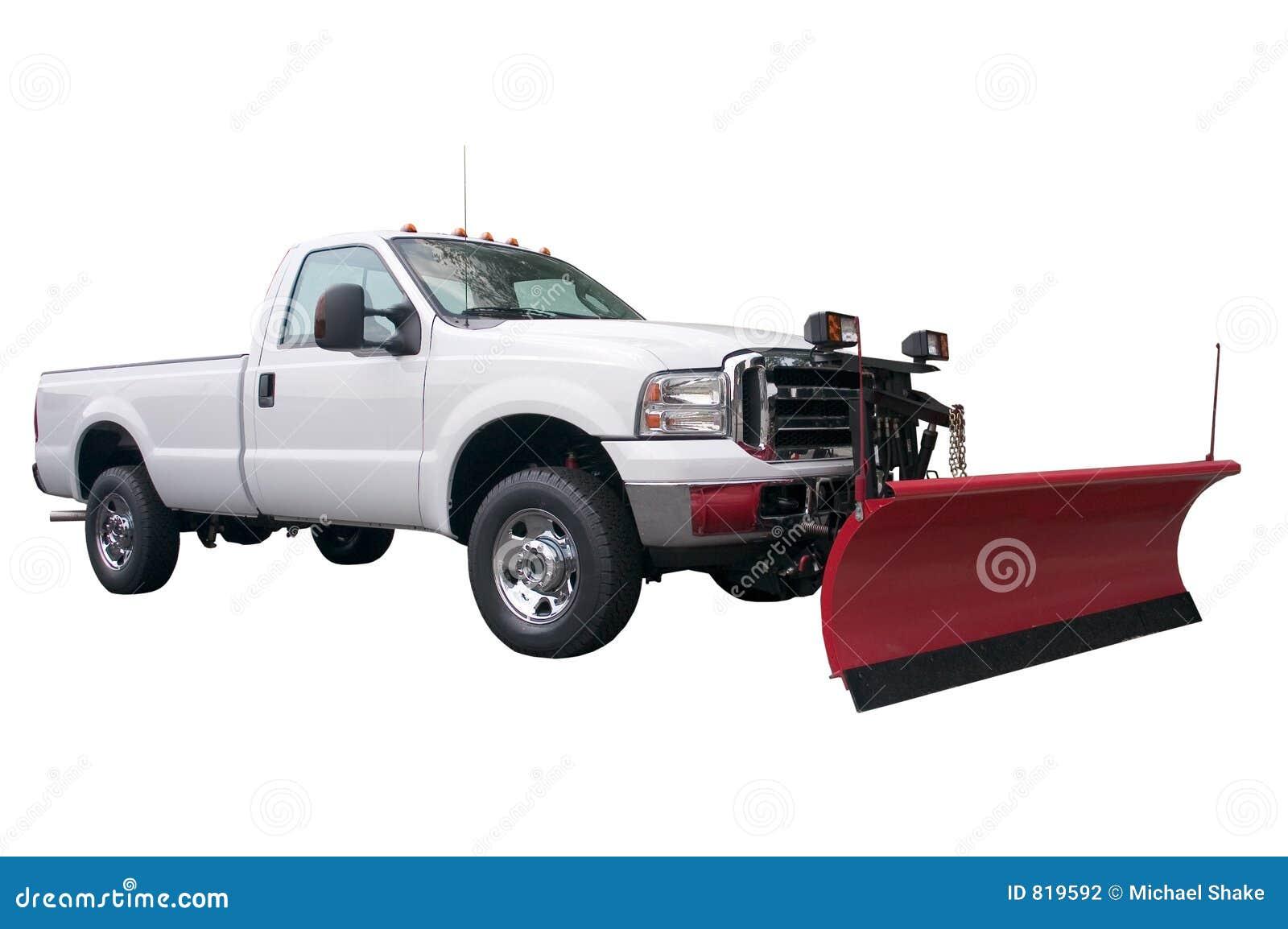 Camion dell aratro di neve