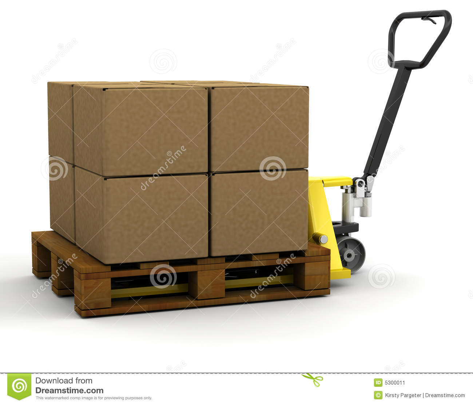 Download Camion Di Pallet Con Le Caselle Illustrazione di Stock - Illustrazione di trasporto, camion: 5300011