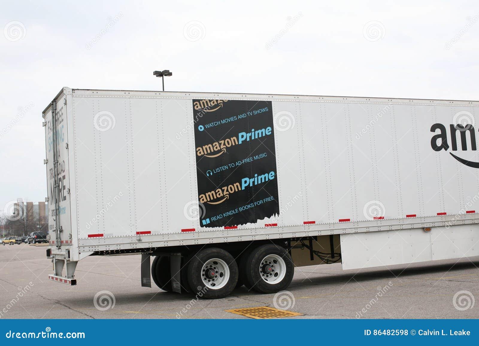 Camion di trasporto di perfezione di Amazon